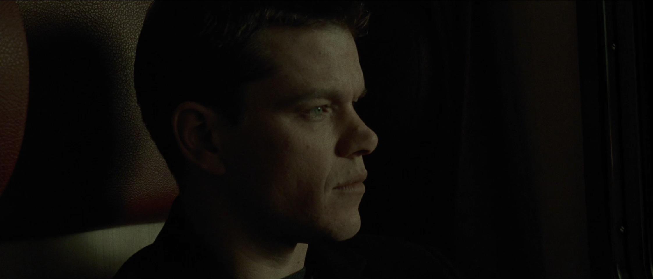 Jason Bourne Side profile