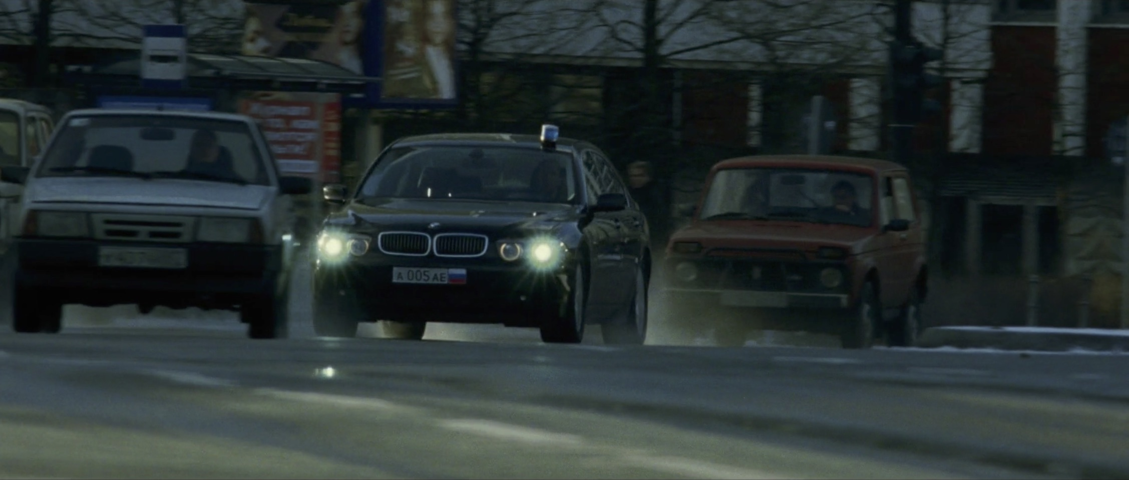 Bourne Supremacy Car Chase BMW