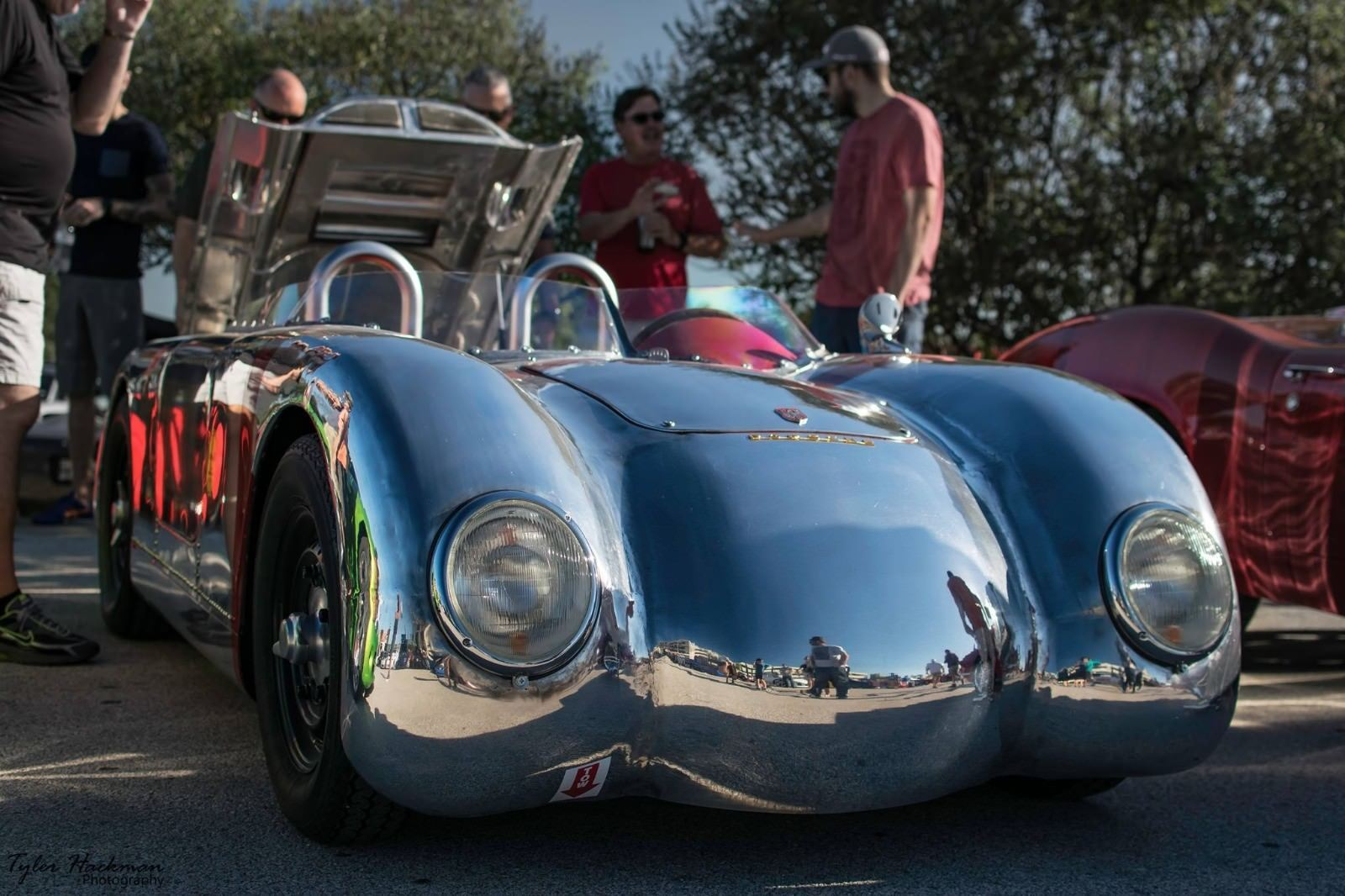 Custom Porsche 356 Front View Low