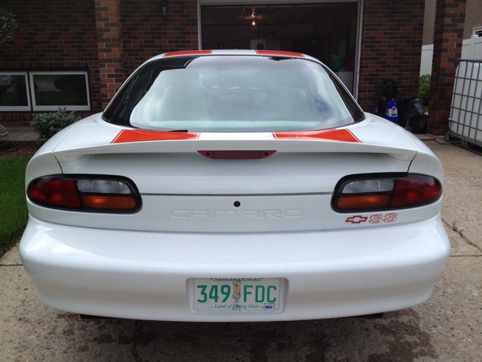 1997 Chevrolet Camaro hardtop rear