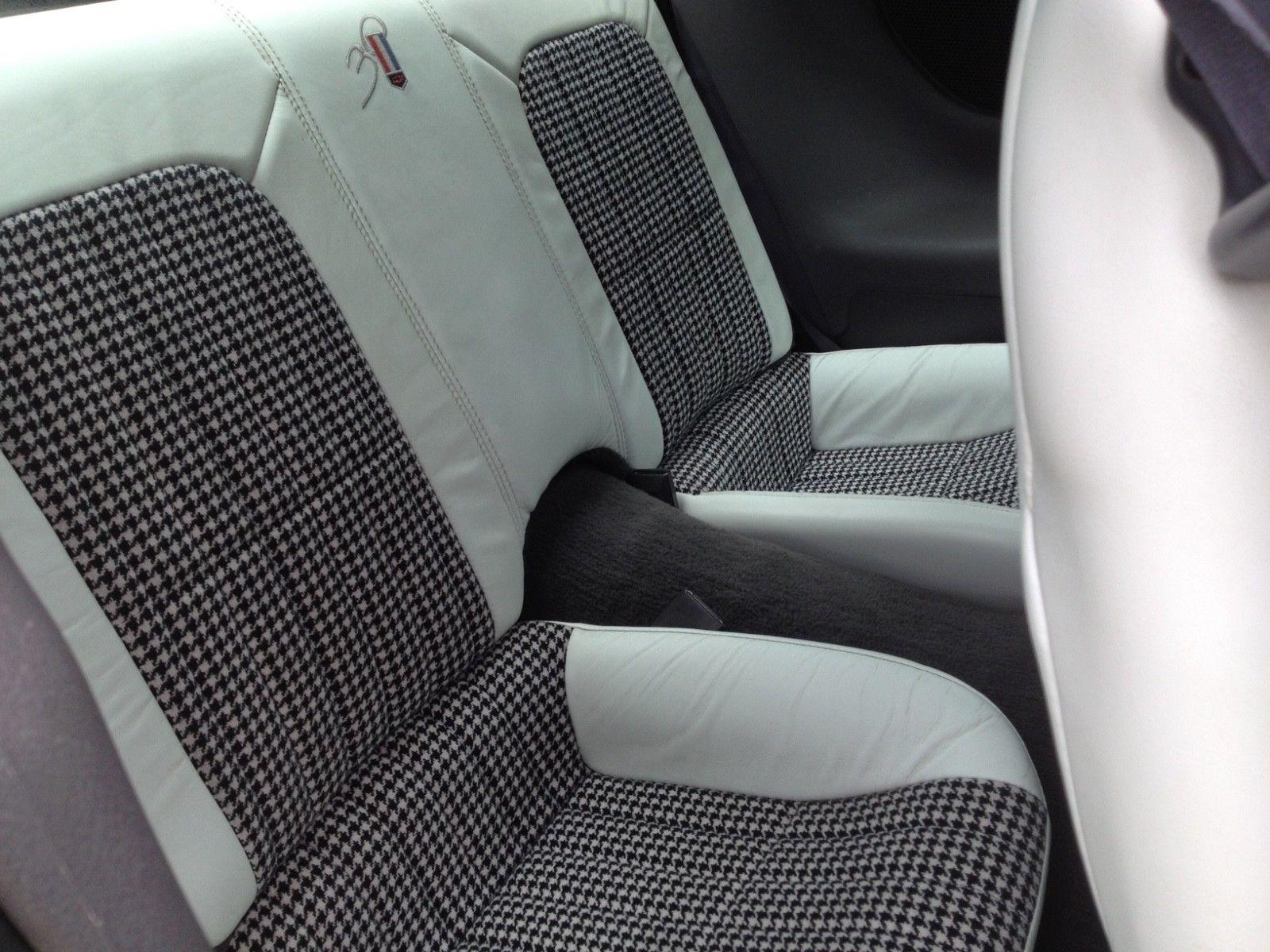 1997 Chevrolet Camaro hardtop rear seat