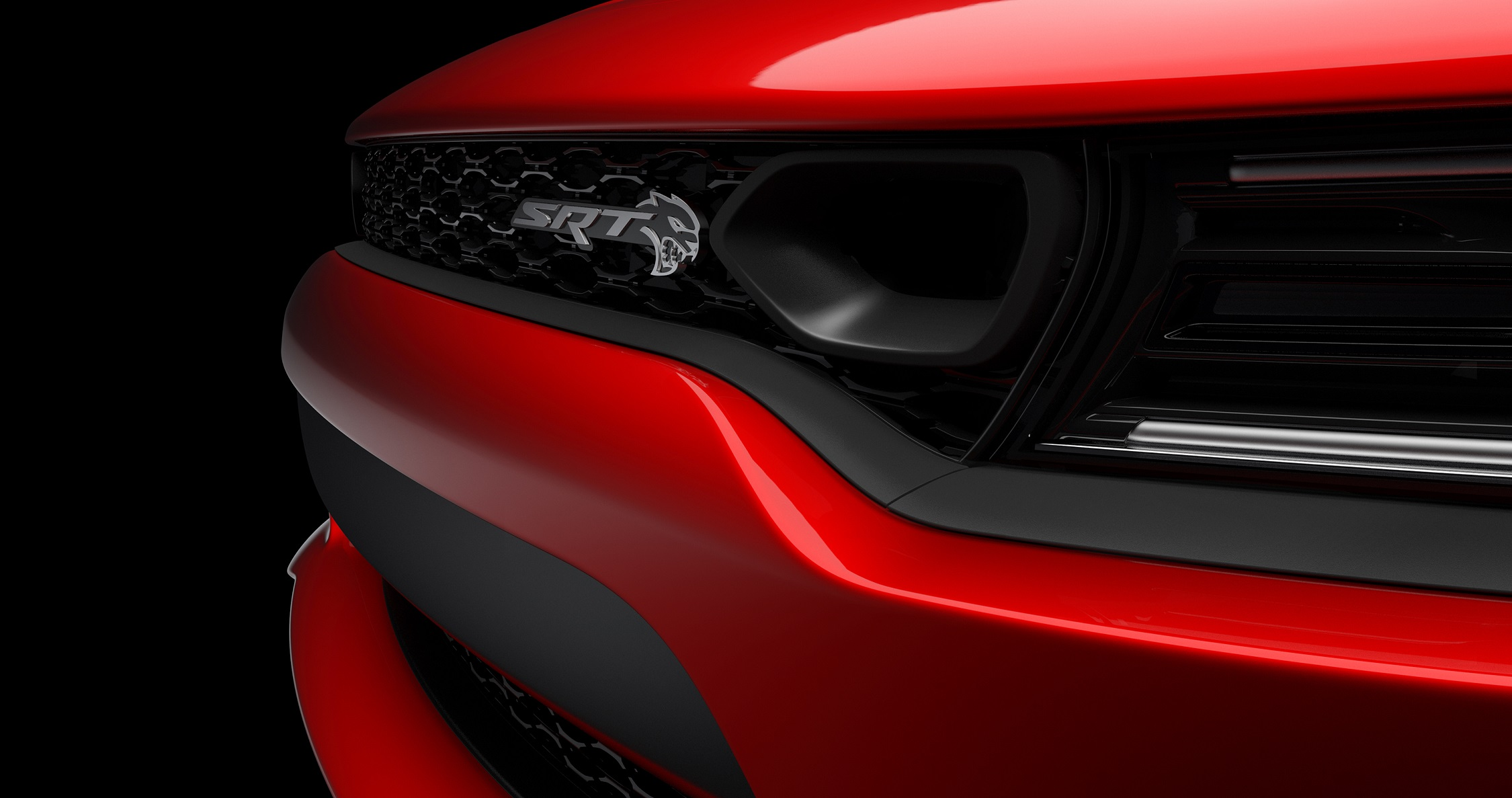 Dodge teases 2019 Charger Hellcat with updated grille thumbnail