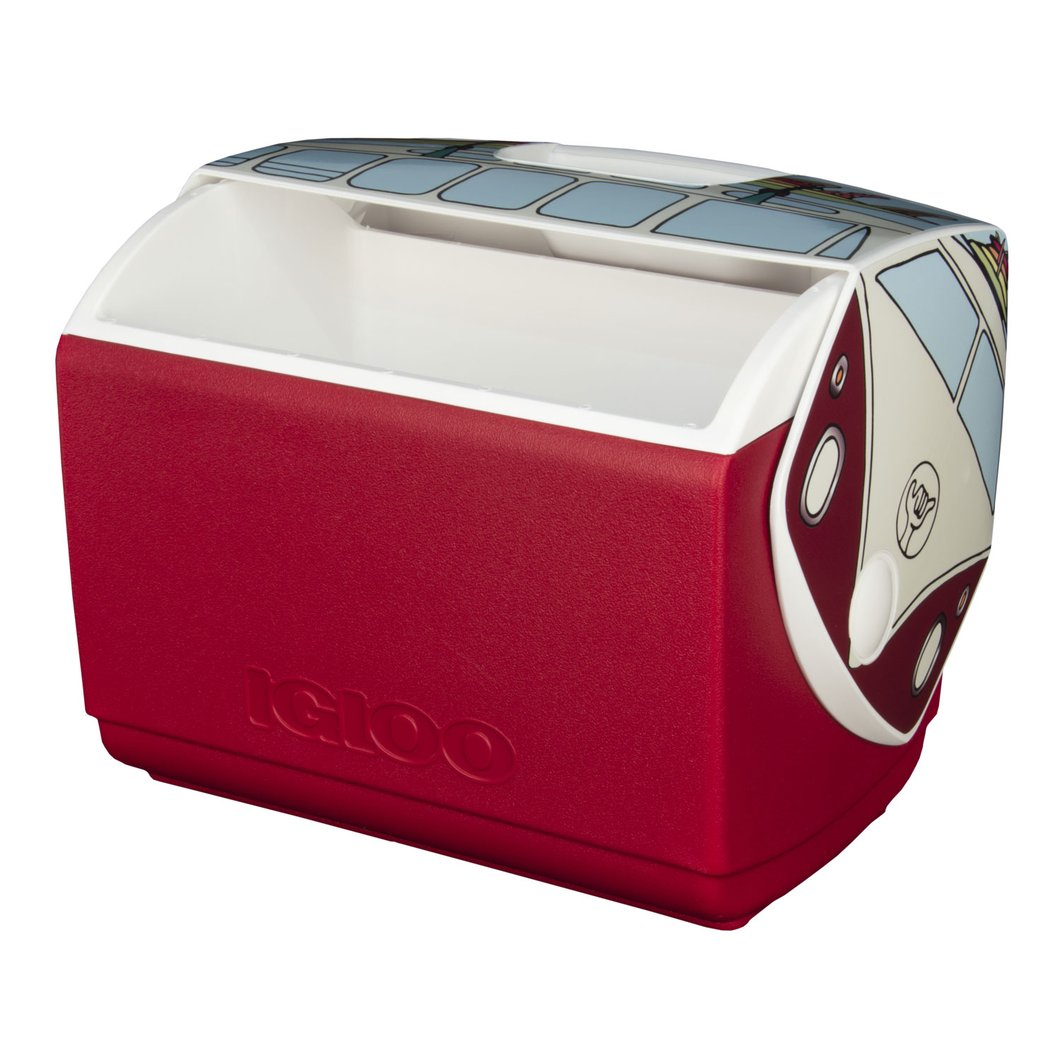 open VW Igloo cooler