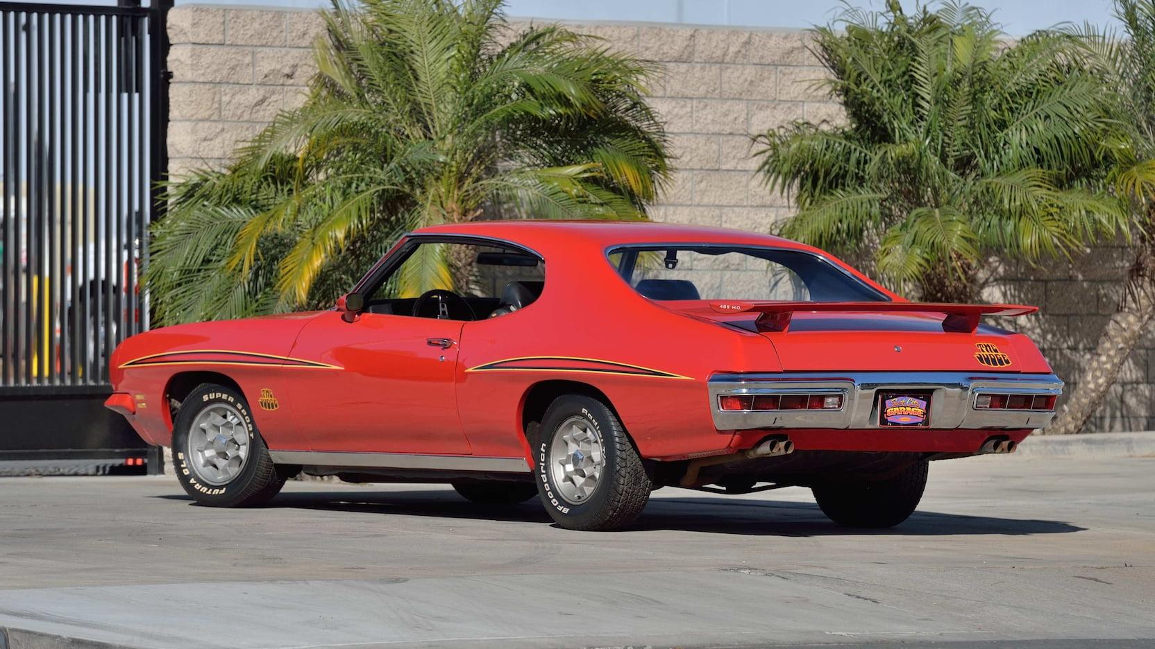 1971 Pontiac GTO Judge Pilot Car rear 3/4