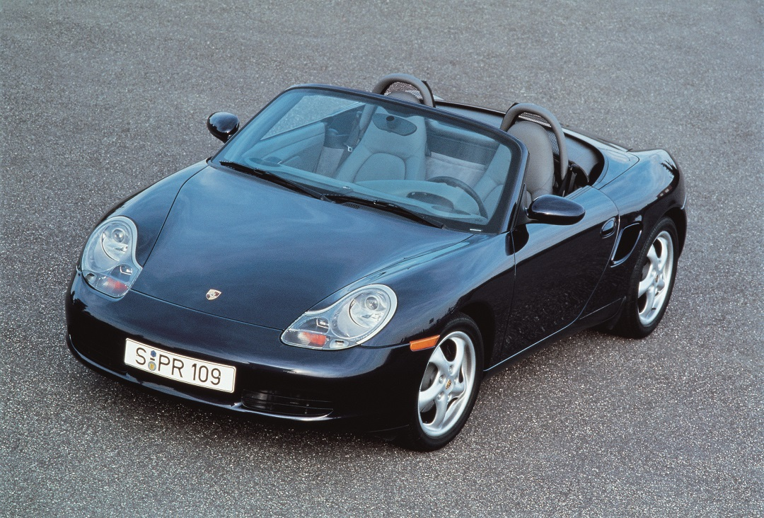 The 1997 Boxster production model came very close to the concept car that inspired its design.