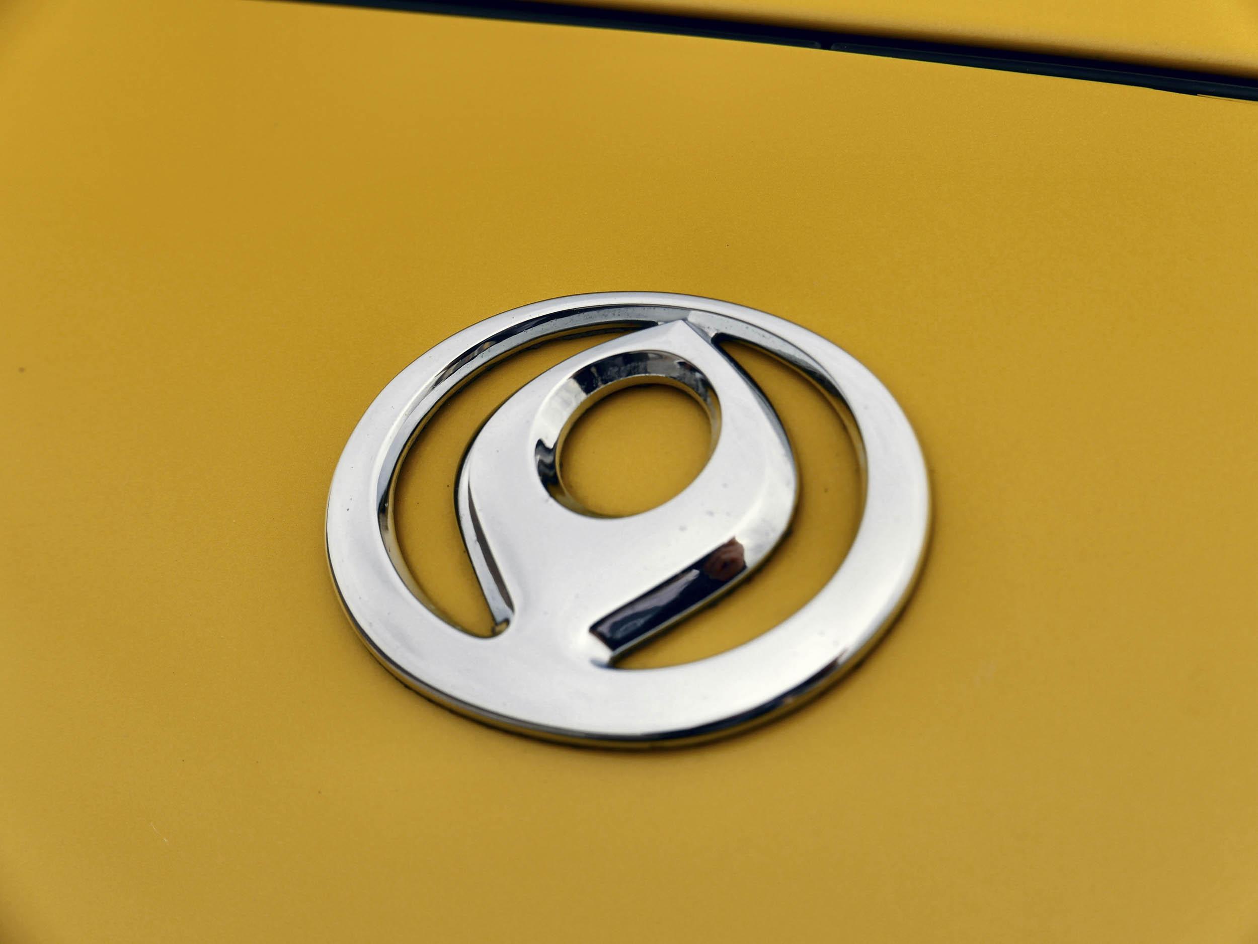 Mazda RX-7 hood emblem