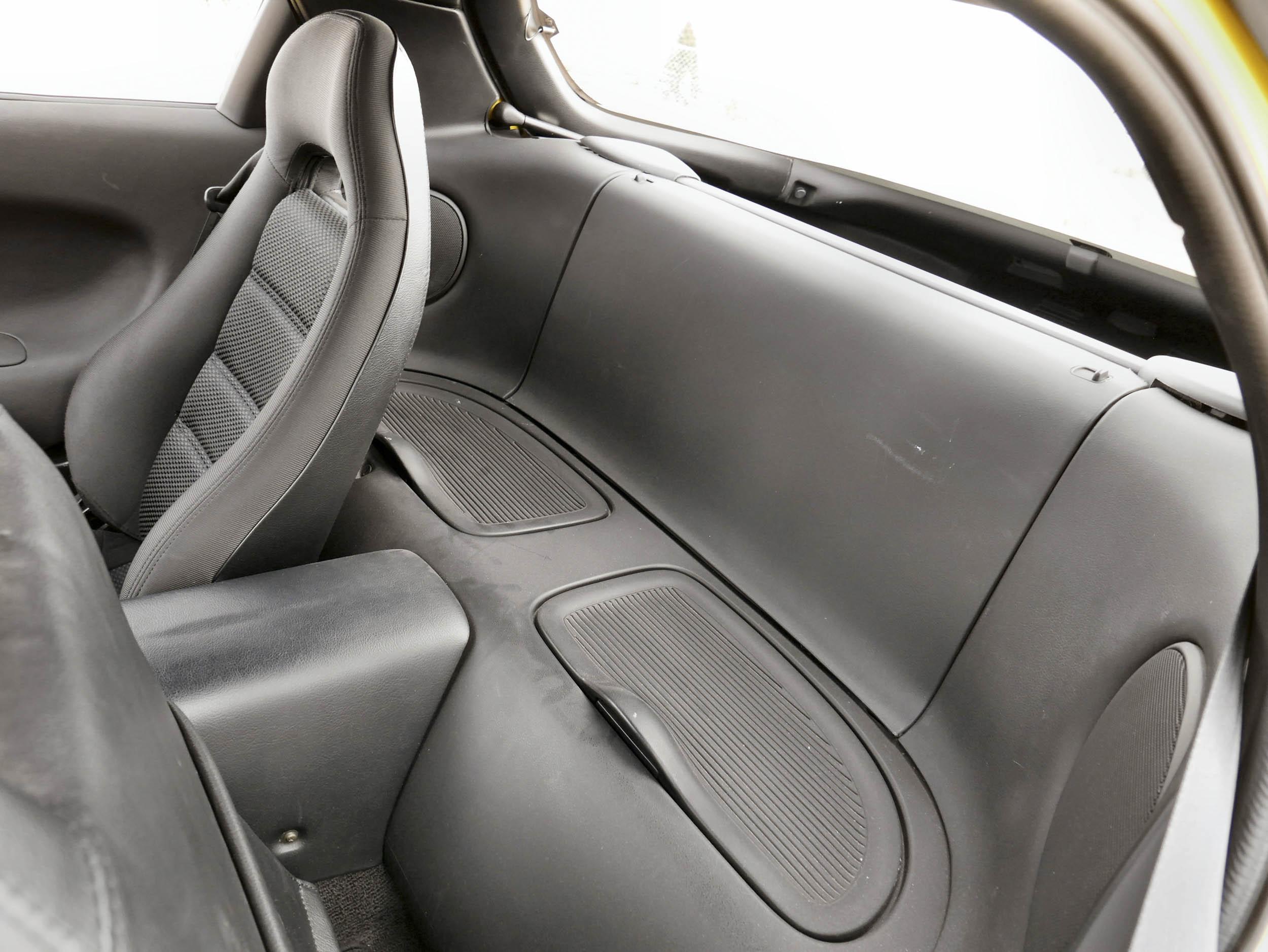 Mazda RX-7 backseat