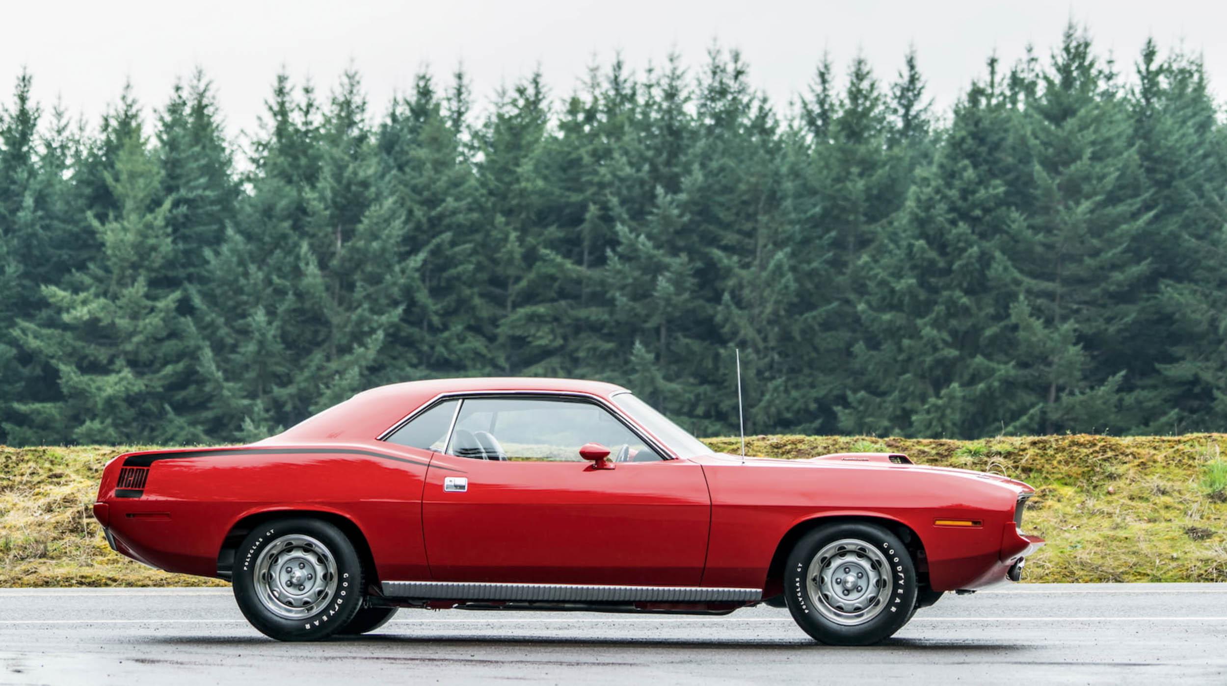 1970 Plymouth Cuda Hemi