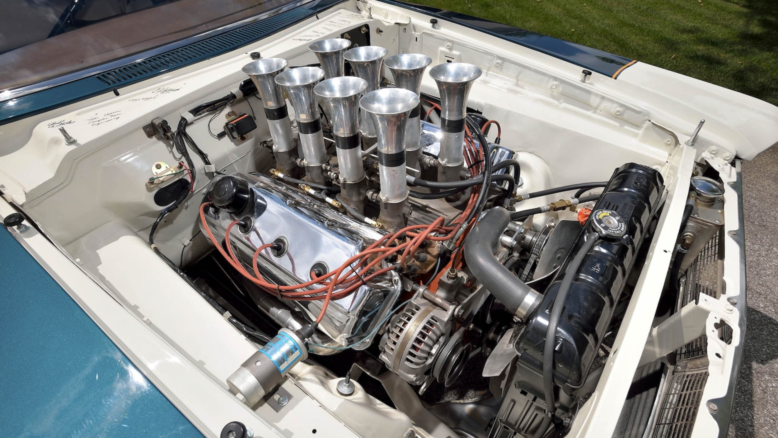 1965 Plymouth Belvedere altered wheelbase mechanical fuel injection