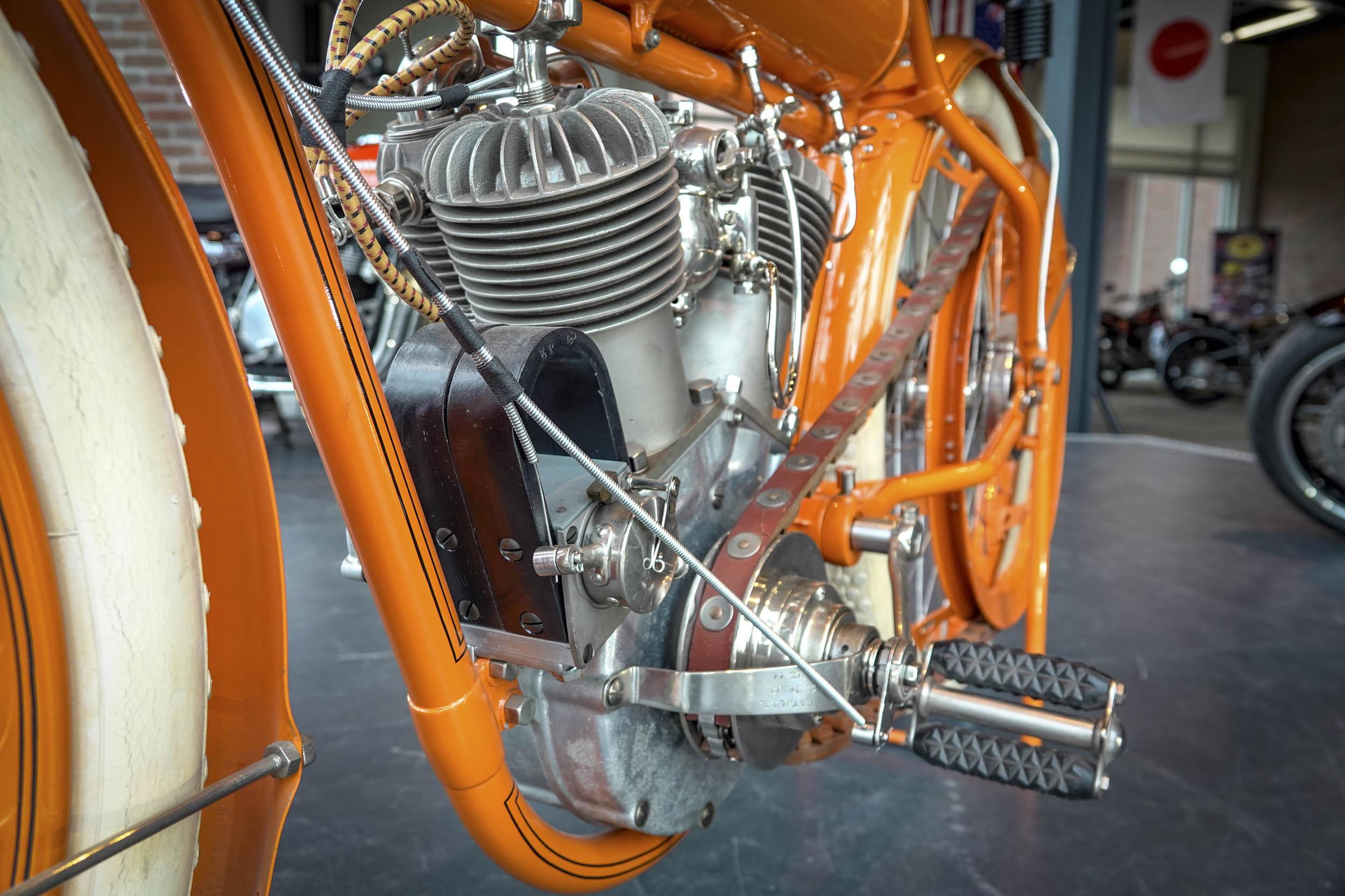 Flying Merkel motorcycle engine