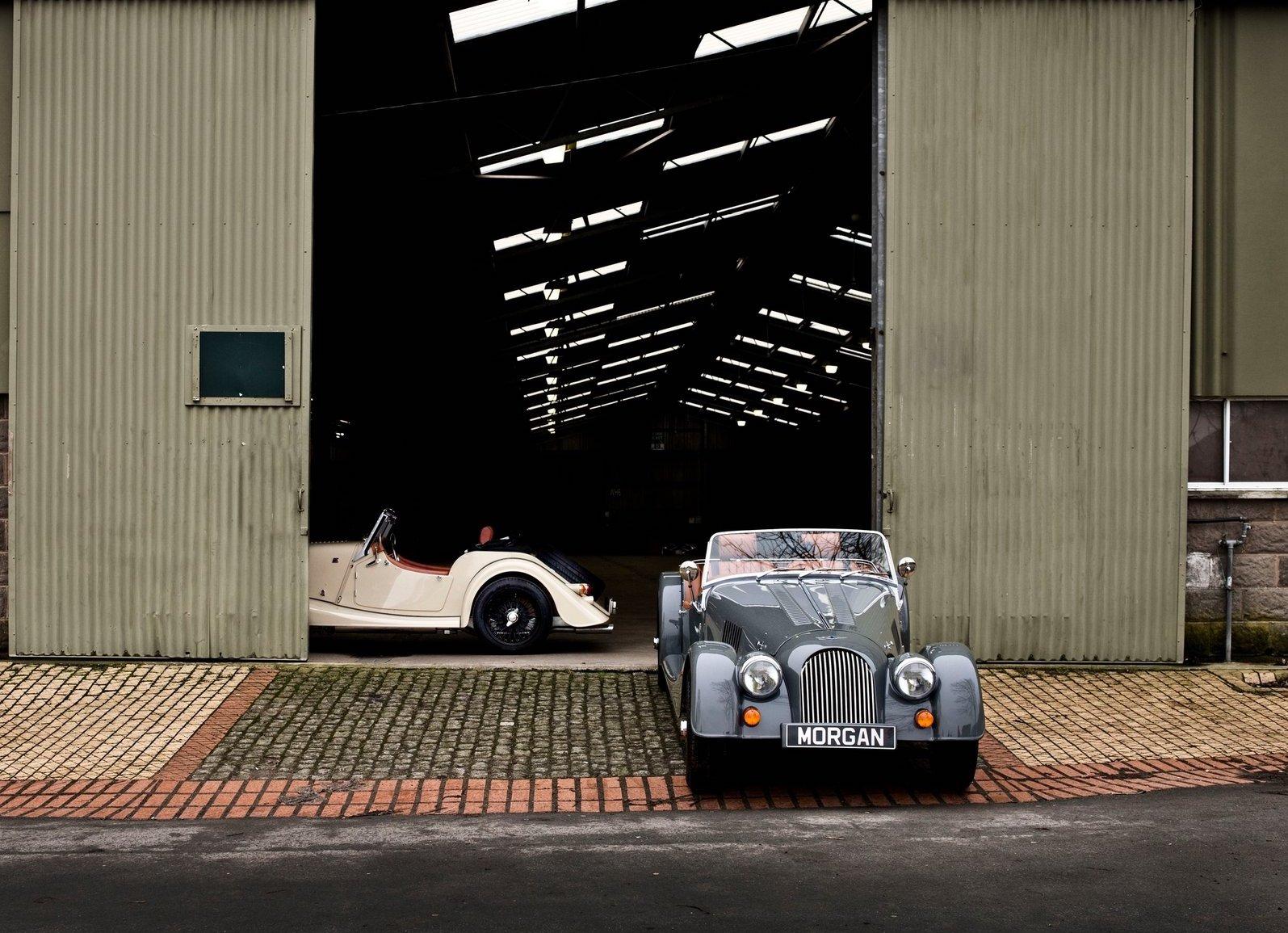 2012 Morgan 4/4 Leaving factory