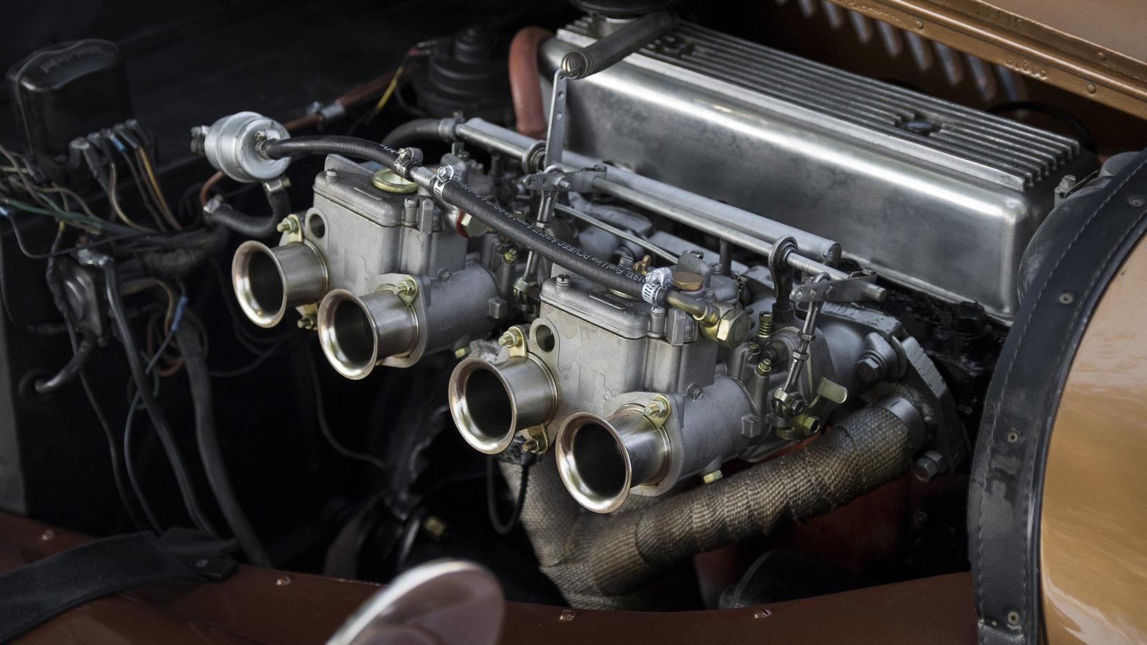 1962 Morgan Plus 4 Engine