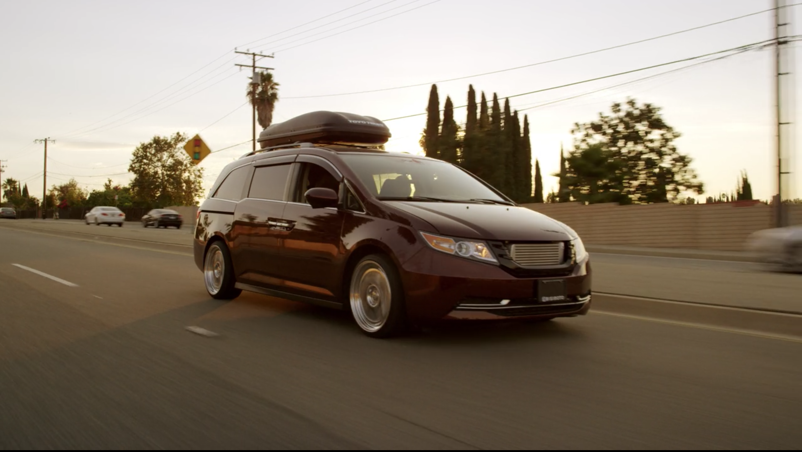 Netflix Fastest Car Honda Odyssey