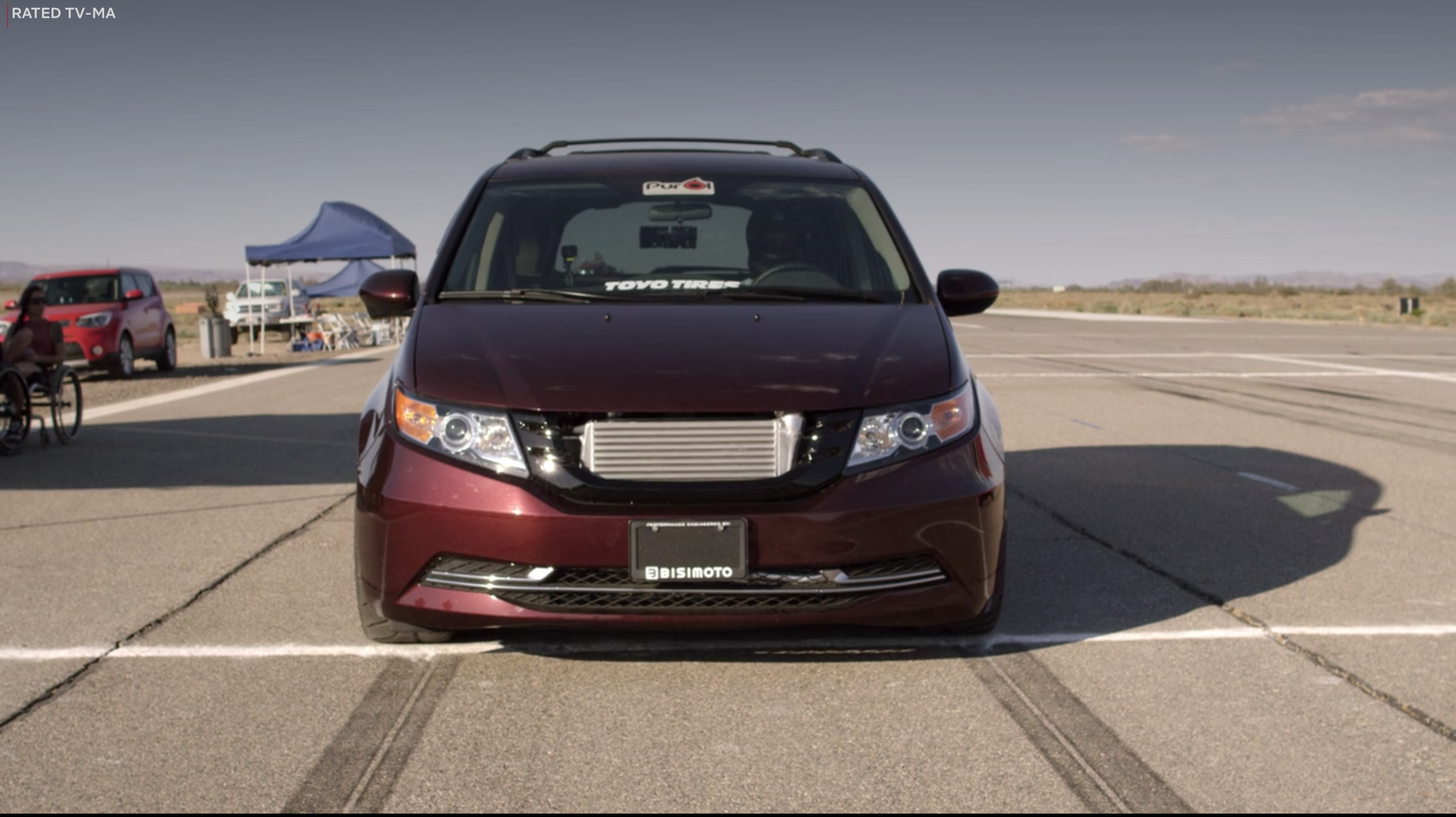 Netflix Fastest car bisimoto honda odyssey 1000 hp Front
