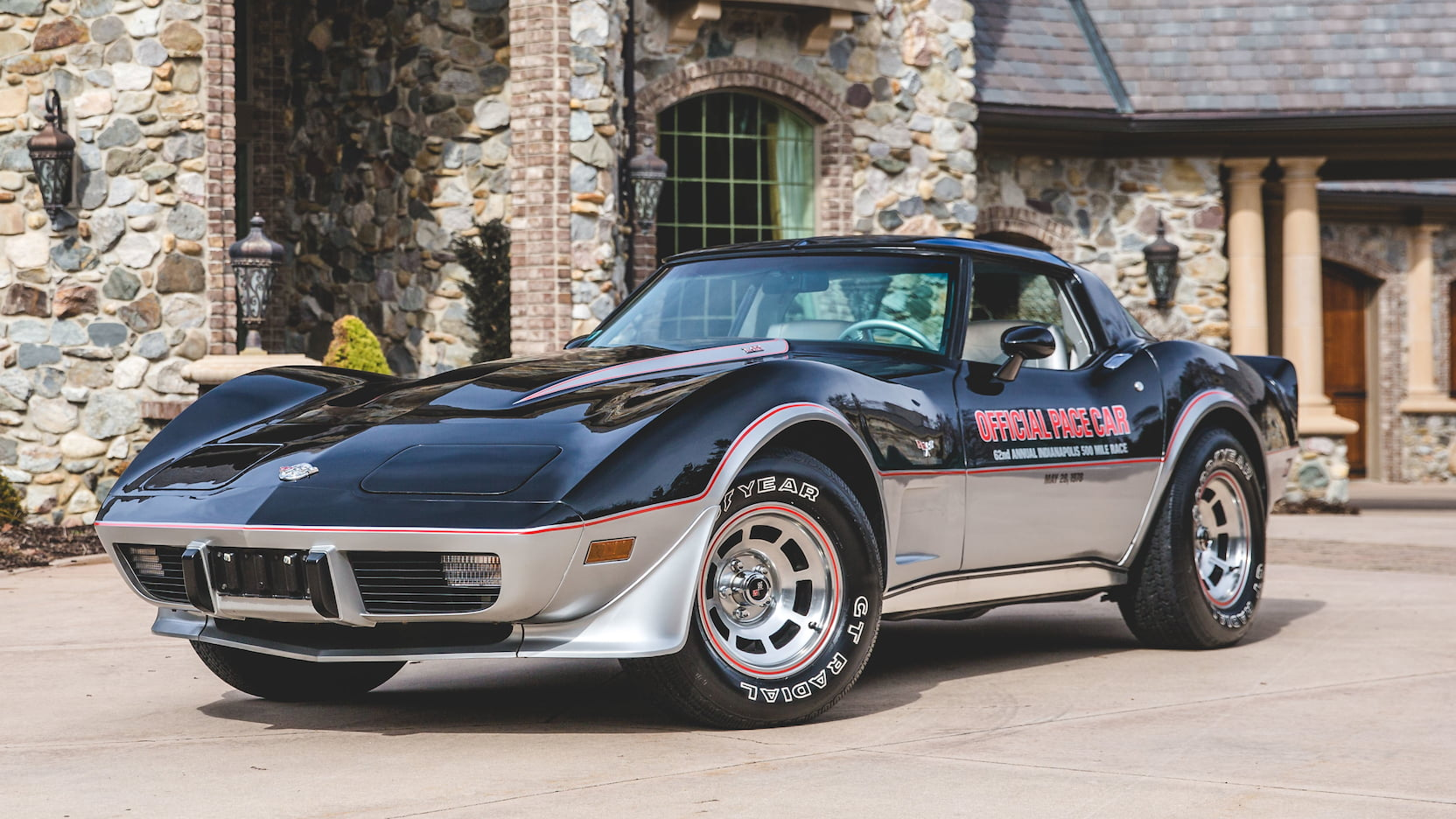 1978 Chevrolet Corvette Pace Car Edition front 3/4