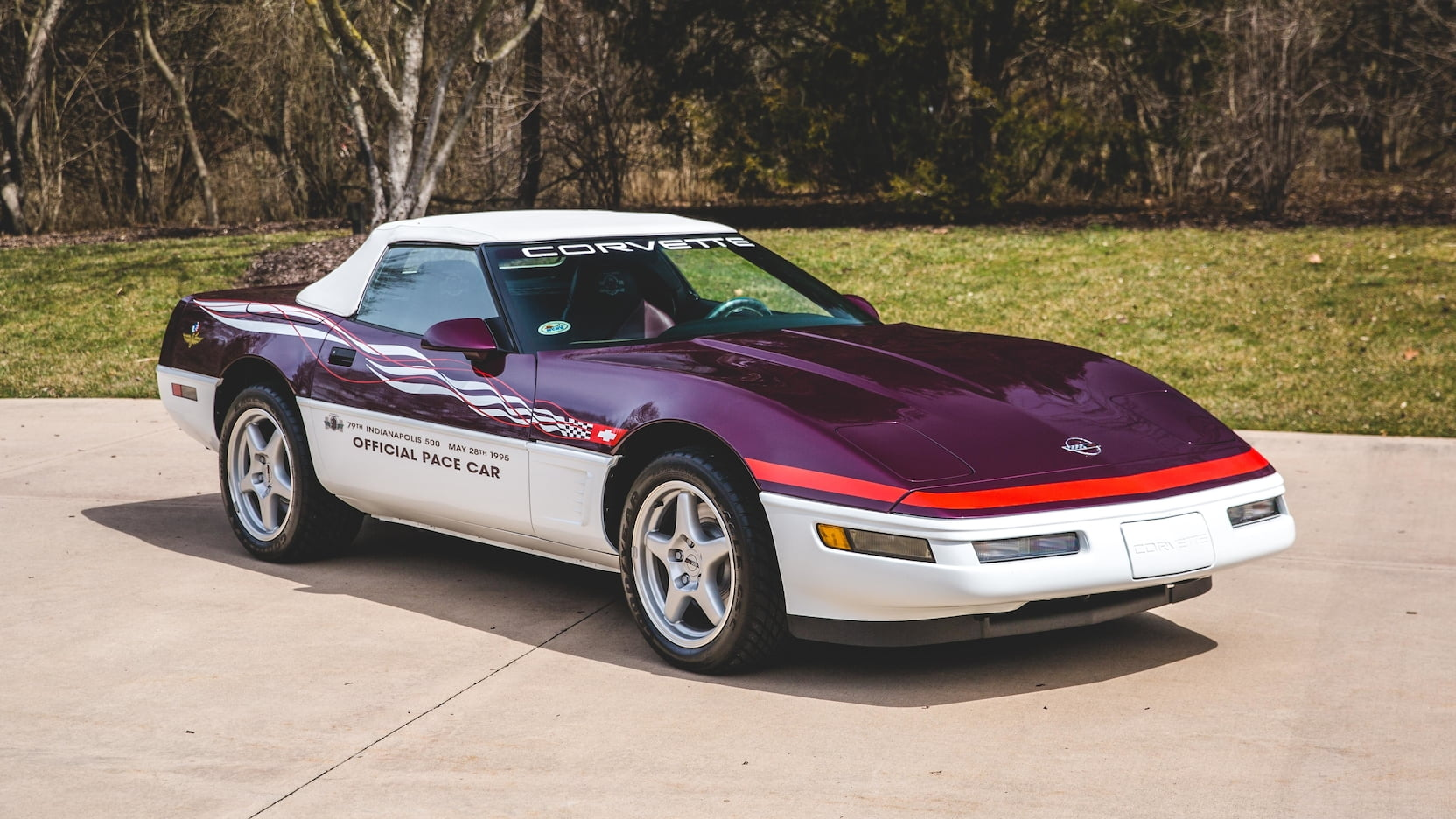 1995 Chevrolet Corvette Pace Car Edition Front 3/4