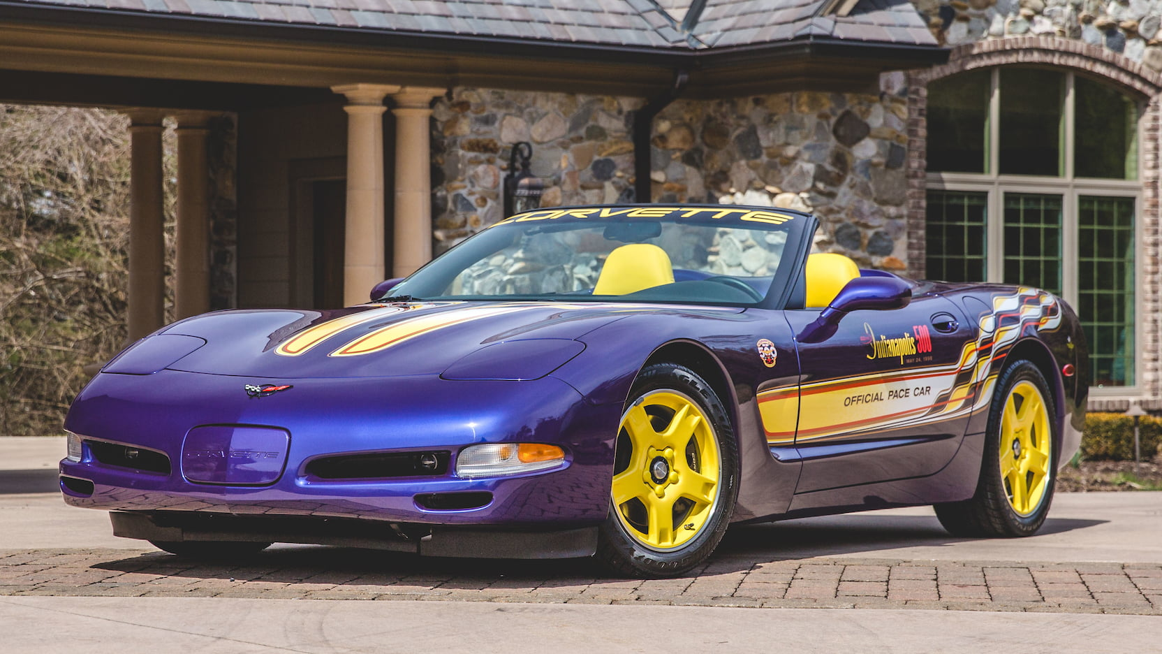 1998 Chevrolet Corvette Pace Car Edition Front 3/4
