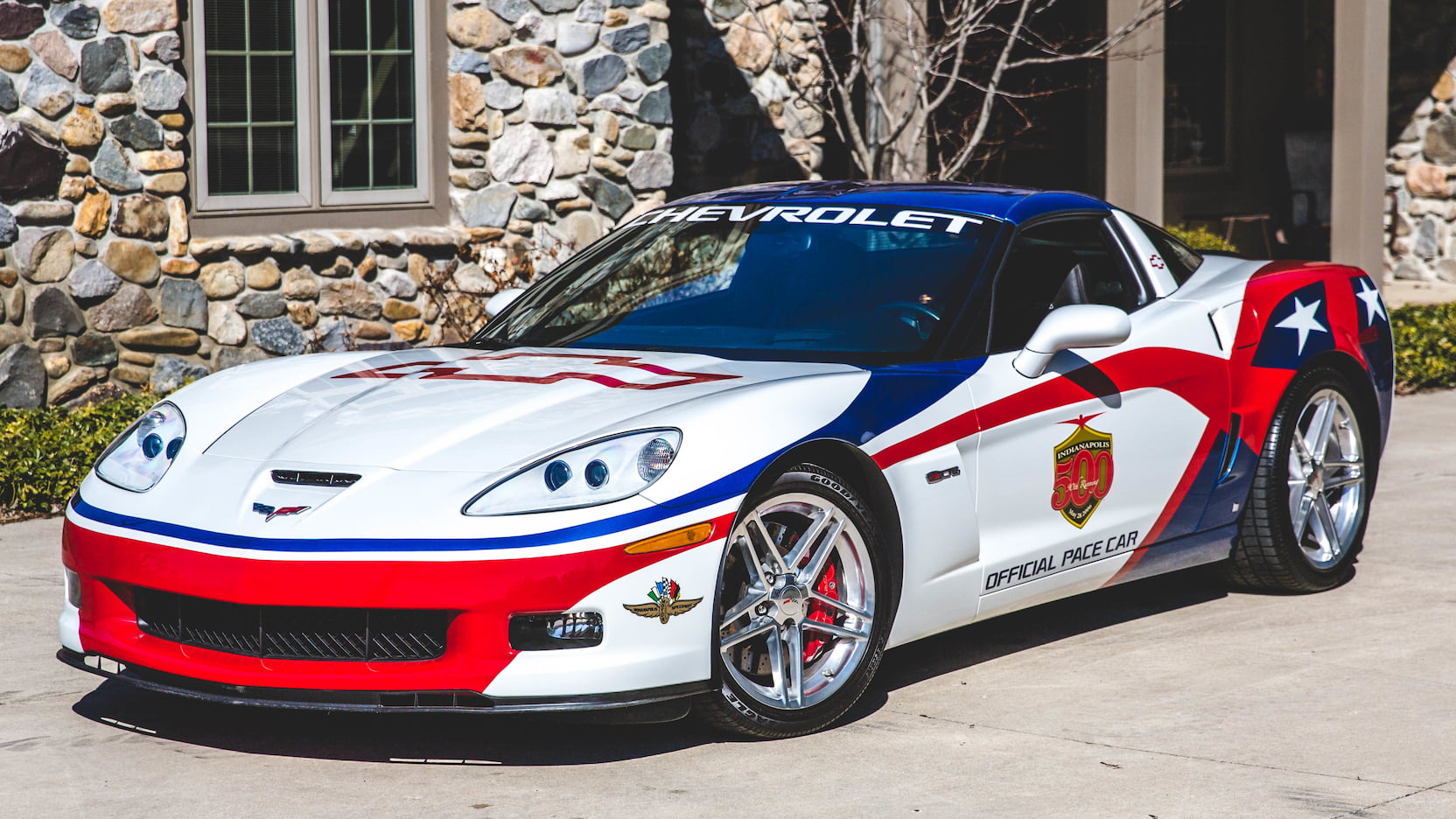 2006 Chevrolet Corvette Z06 Pace Car Edition Front 3/4