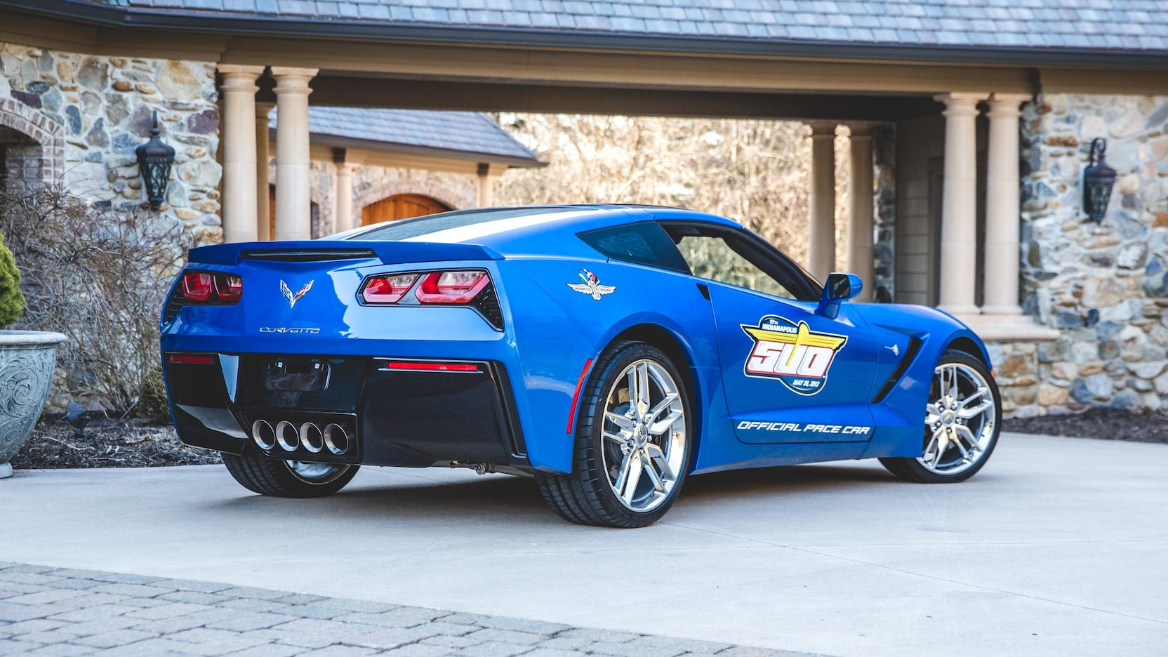 2014 Chevrolet Corvette Pace Car Edition Rear 3/4