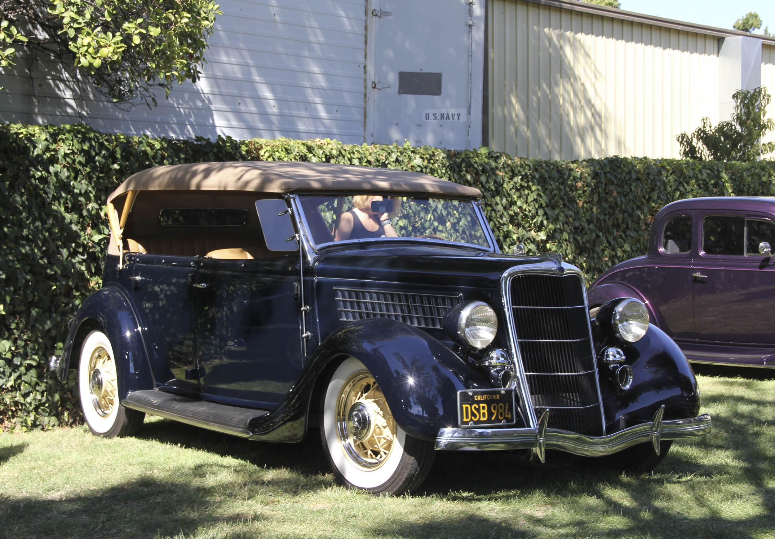 Ford Phaetons got larger in 1935.