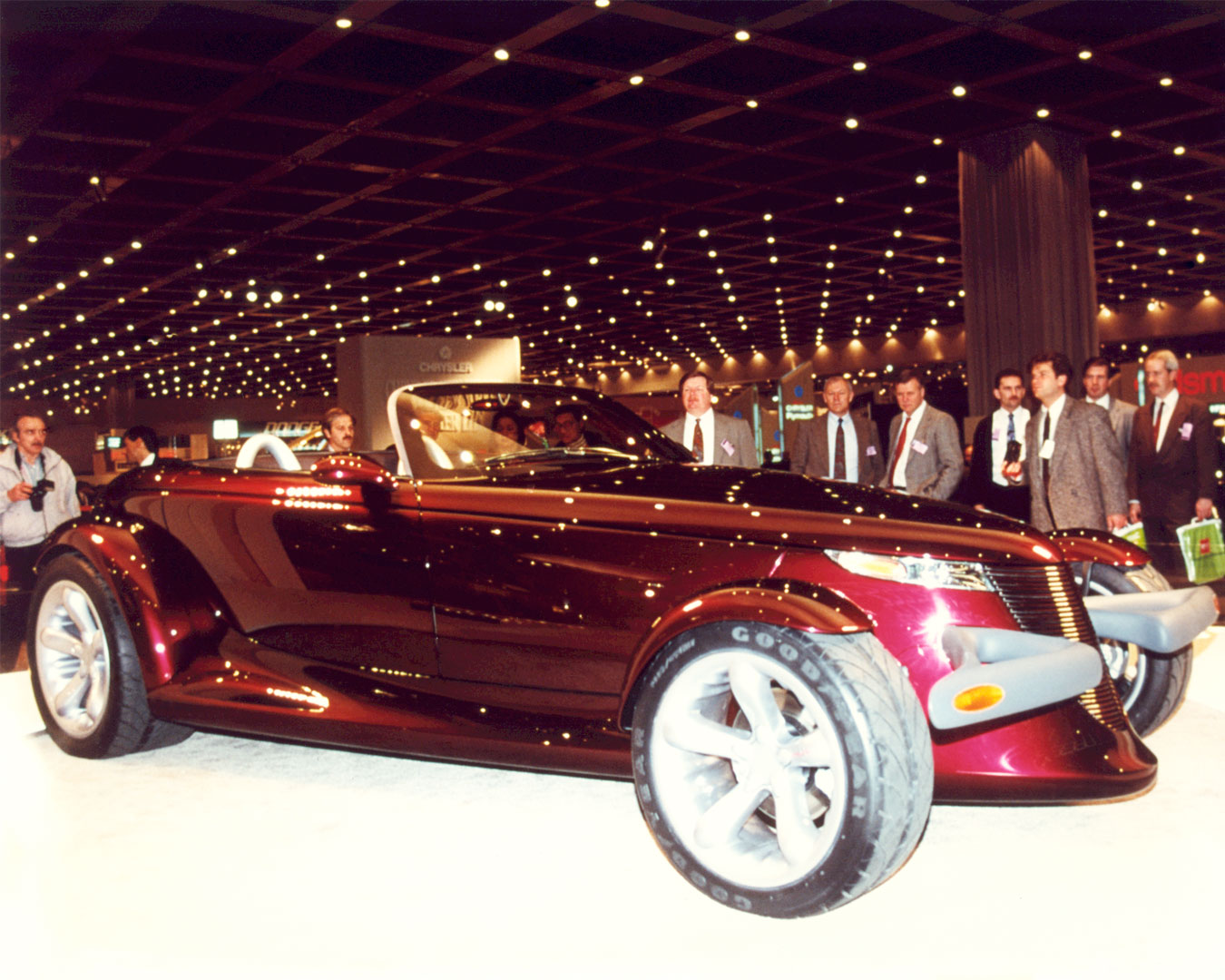The Plymouth Prowler reveal in 1993