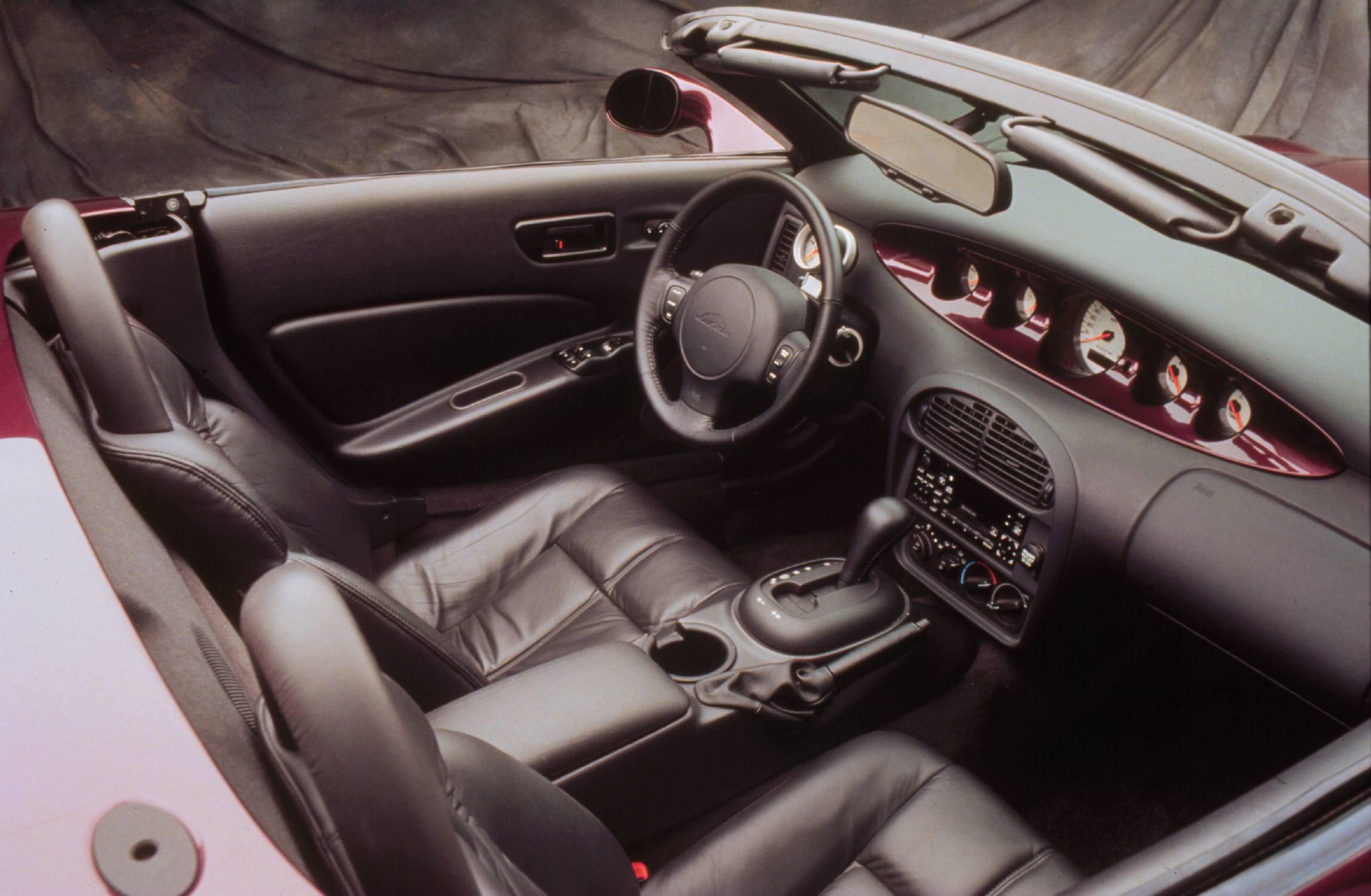 Plymouth Prowler interior
