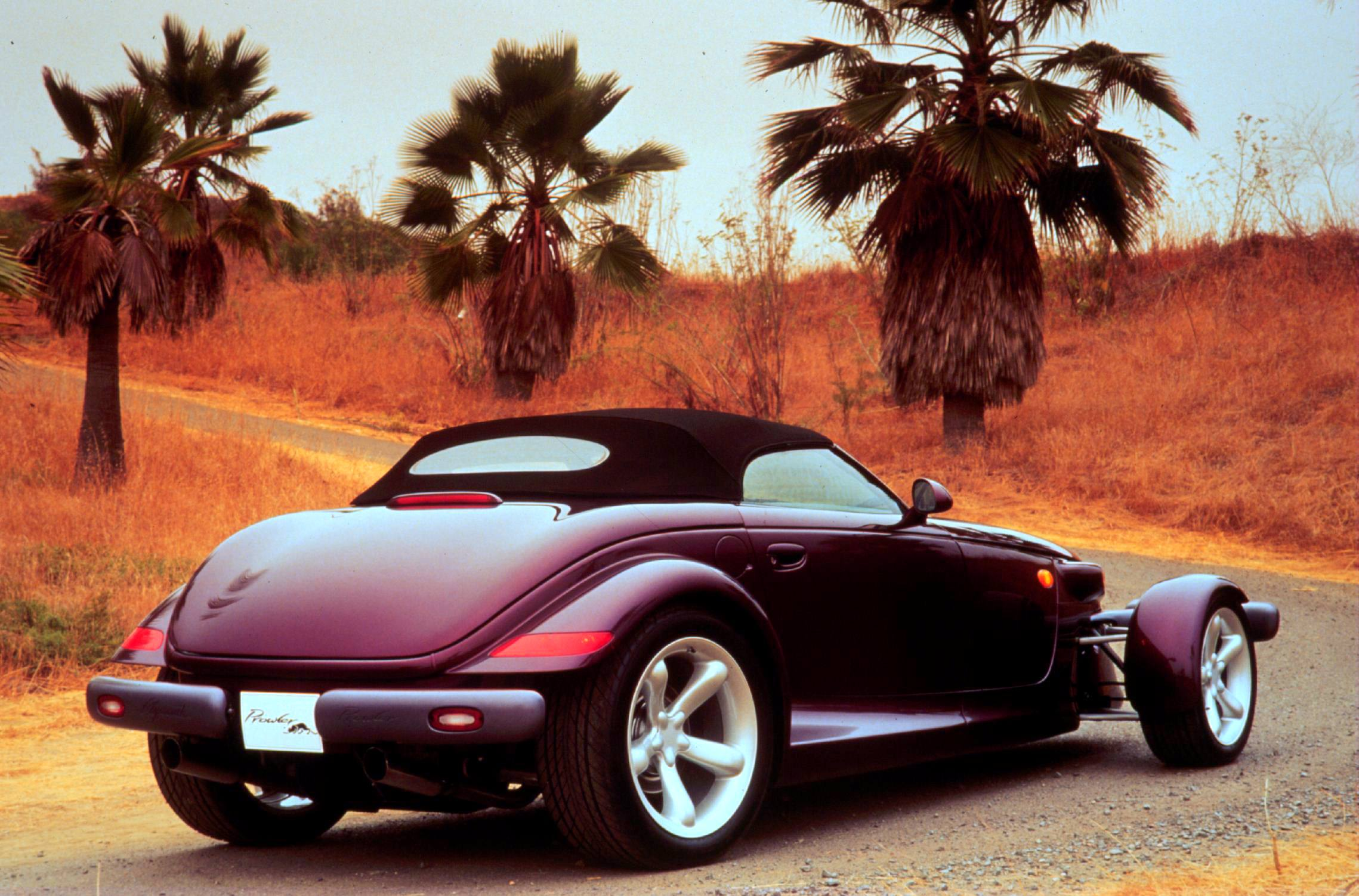 Plymouth Prowler rear 3/4