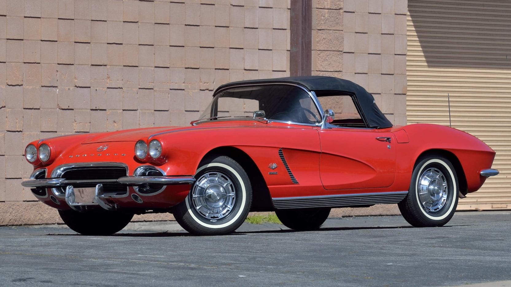 1962 Chevrolet Corvette Fuelie Convertible
