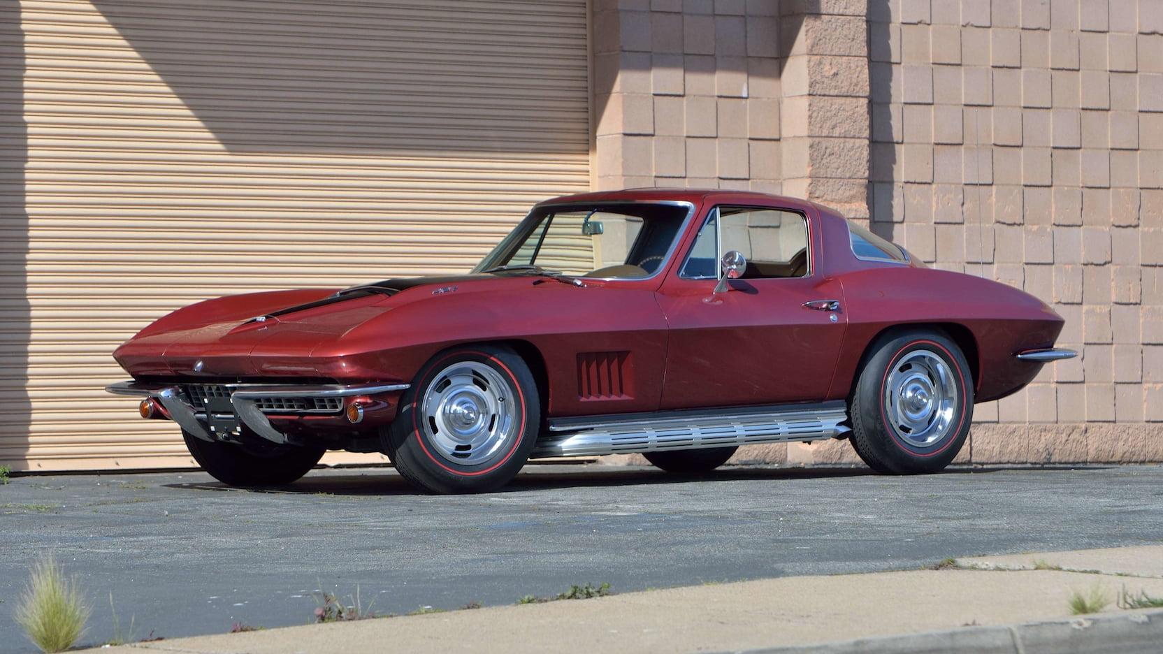 1967 Chevrolet Corvette Side Pipes V8