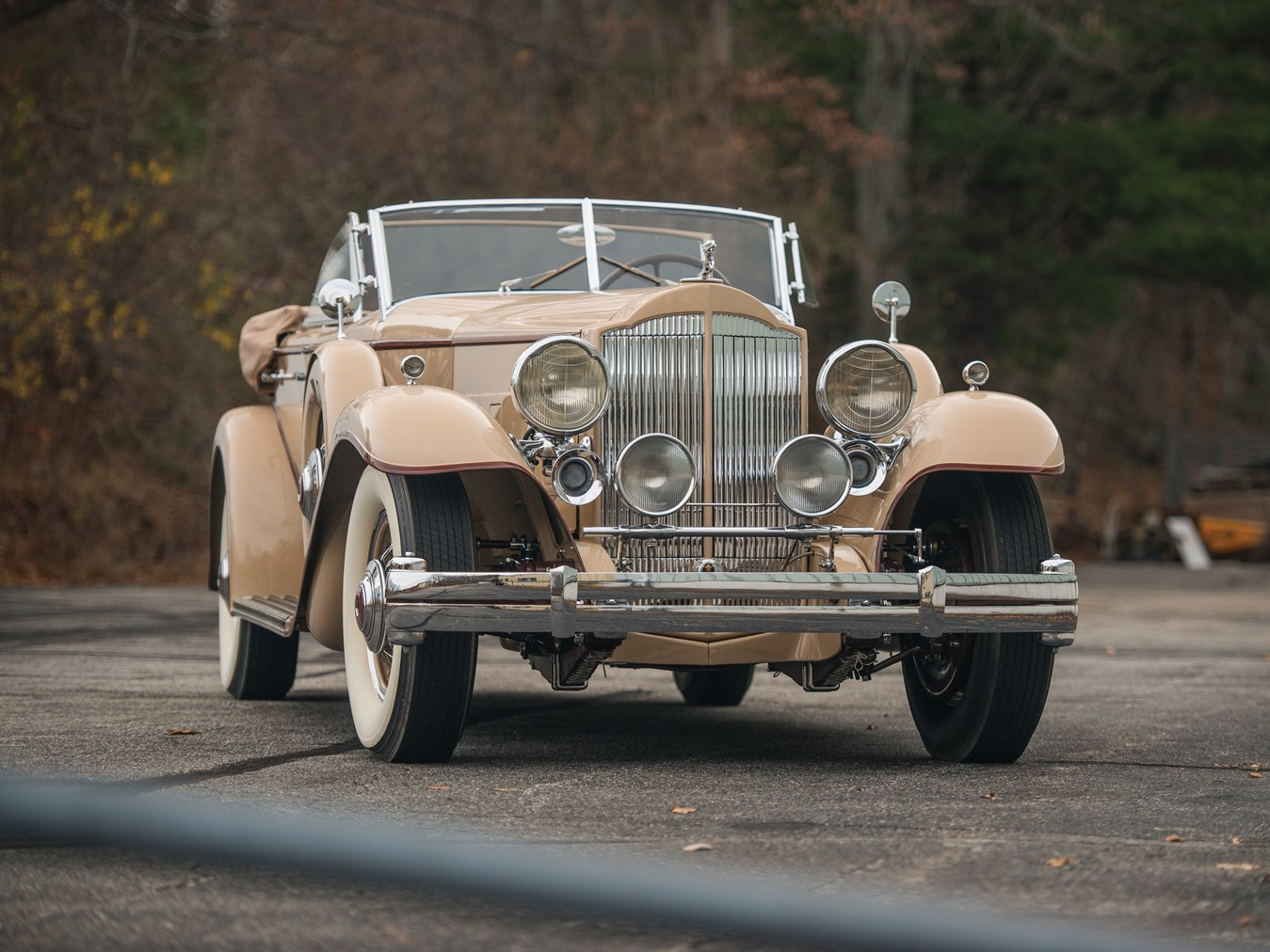1932 Packard Twin Six Individual Custom Sport Phaeton
