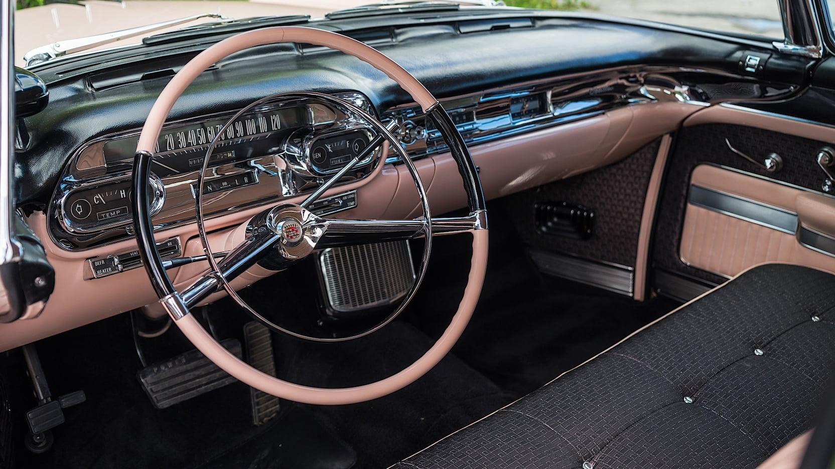 1957 Cadillac Sedan Deville Interior