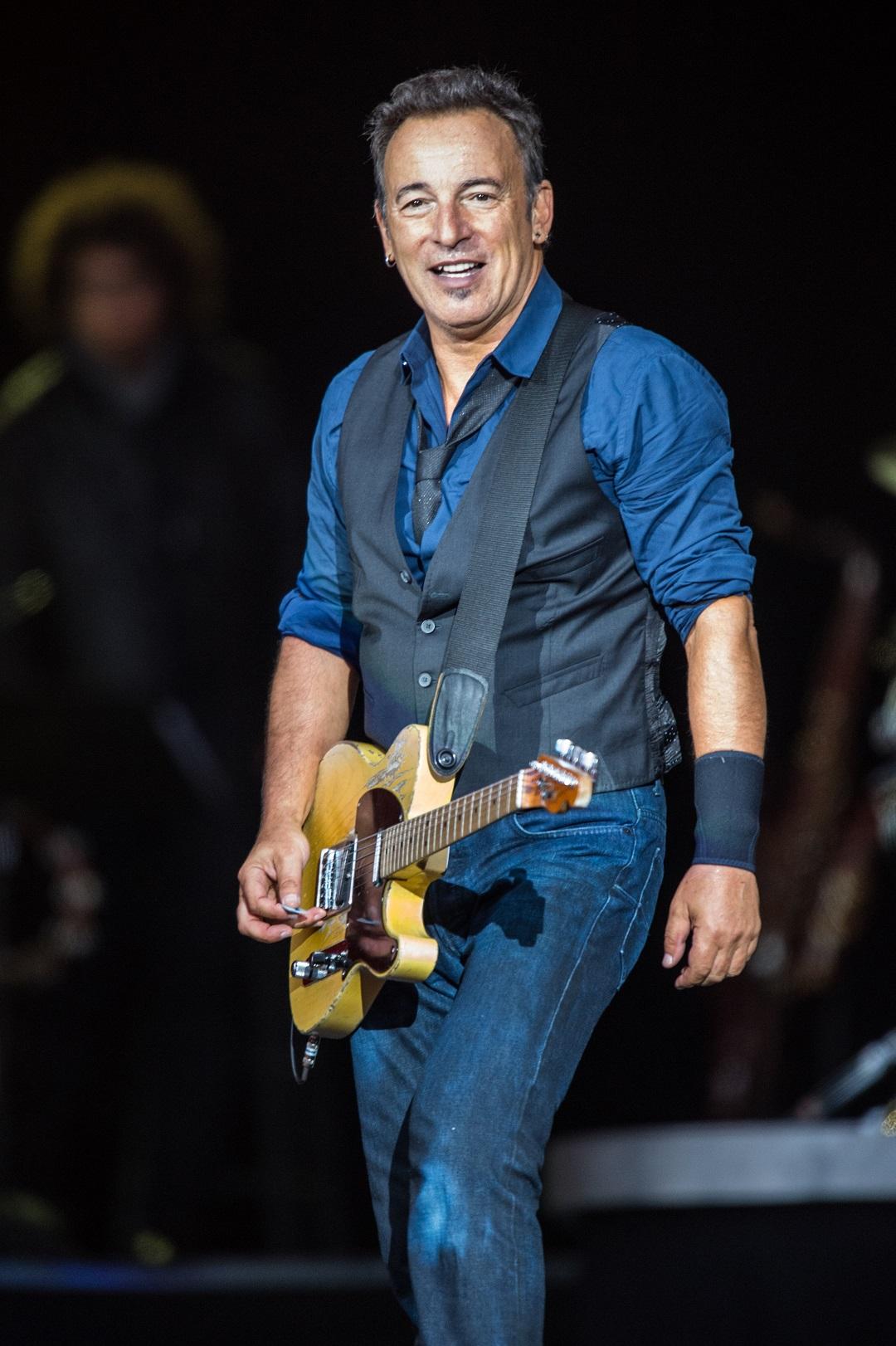 Bruce Springsteen at the 2012 Roskilde Festival