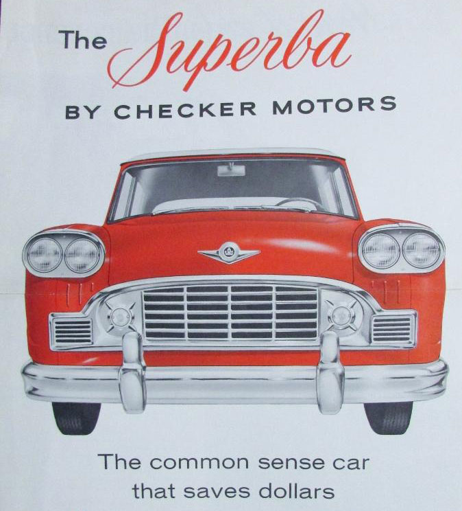 1960 Checker Superba advertisement