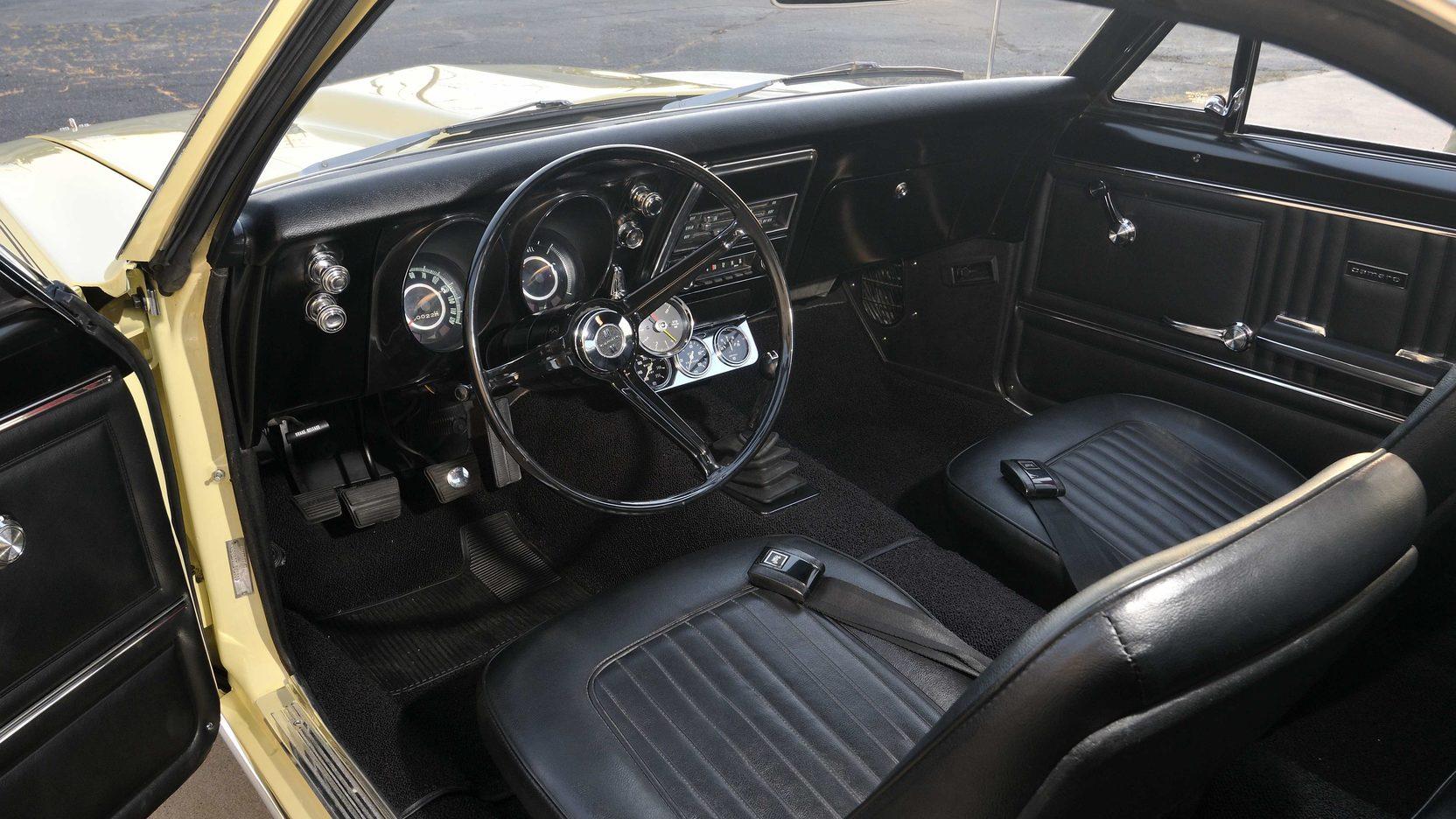 1967 Yenko Chevrolet Camaro Interior