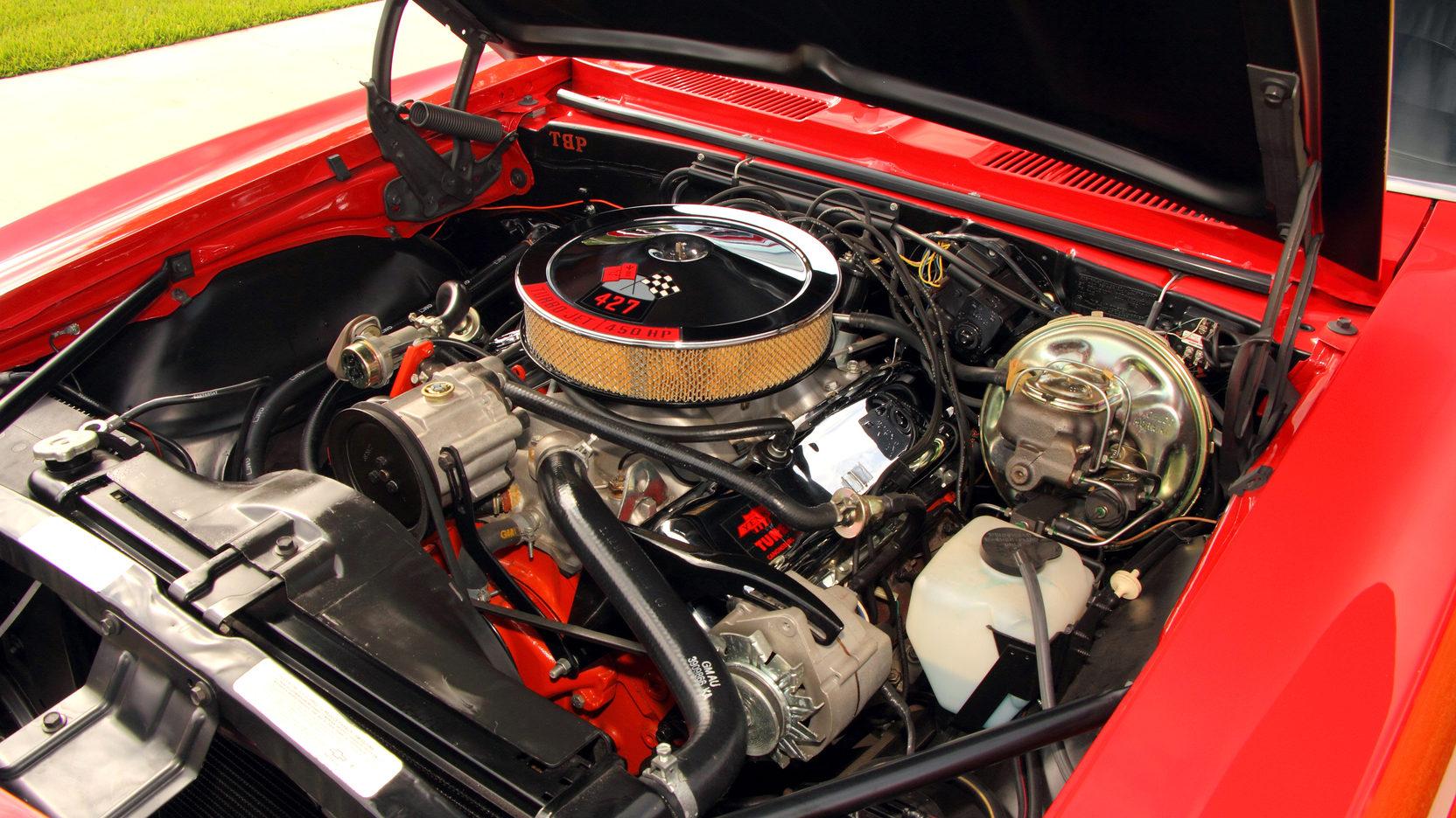 1968 Yenko Chevrolet Camaro Engine