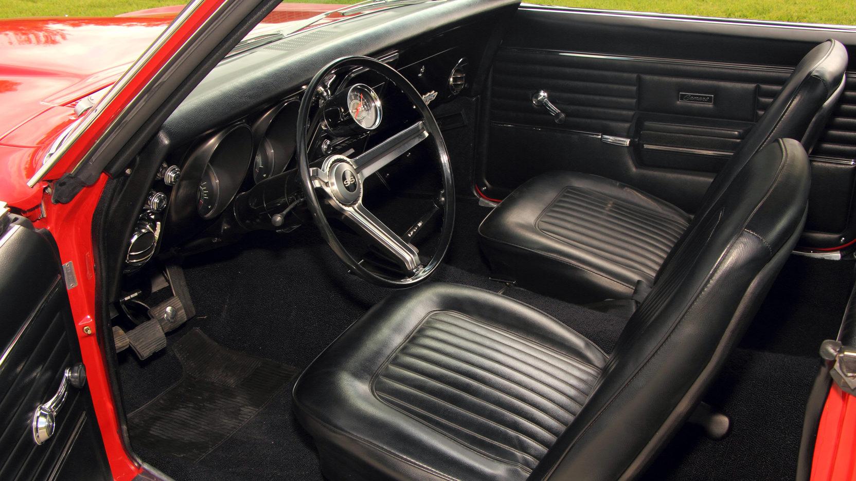 1968 Yenko Chevrolet Camaro Interior