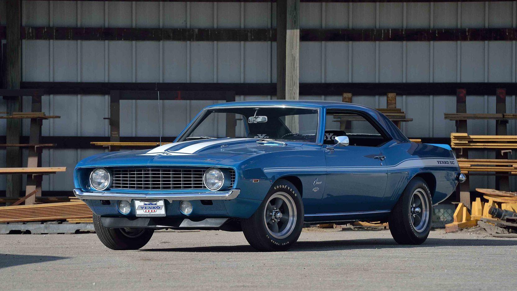 1969 Yenko Chevrolet Camaro Front 3/4