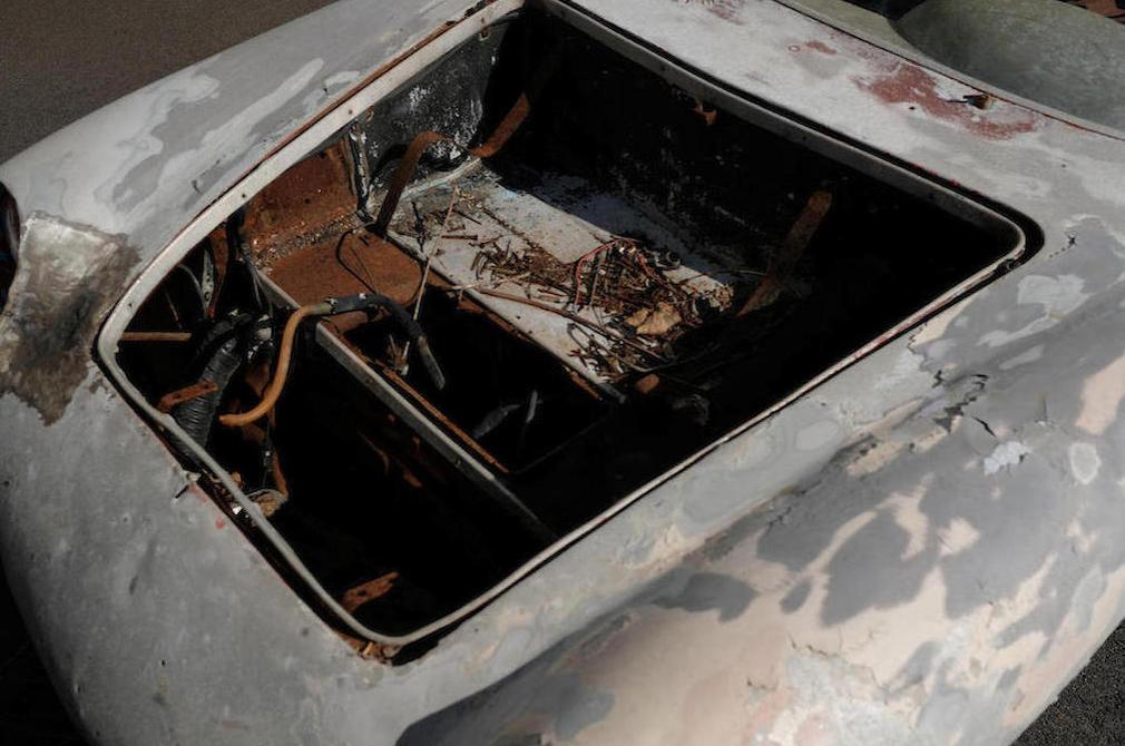 """c.1957 Fiat-Abarth 750 Zagato """"Double Bouble"""" trunk"""