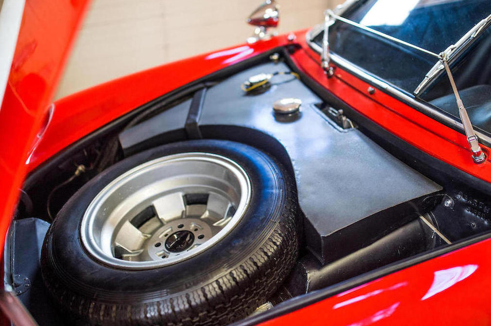 1963 Fiat-Abarth Monomille GT (with Bialbero upgrade) trunk