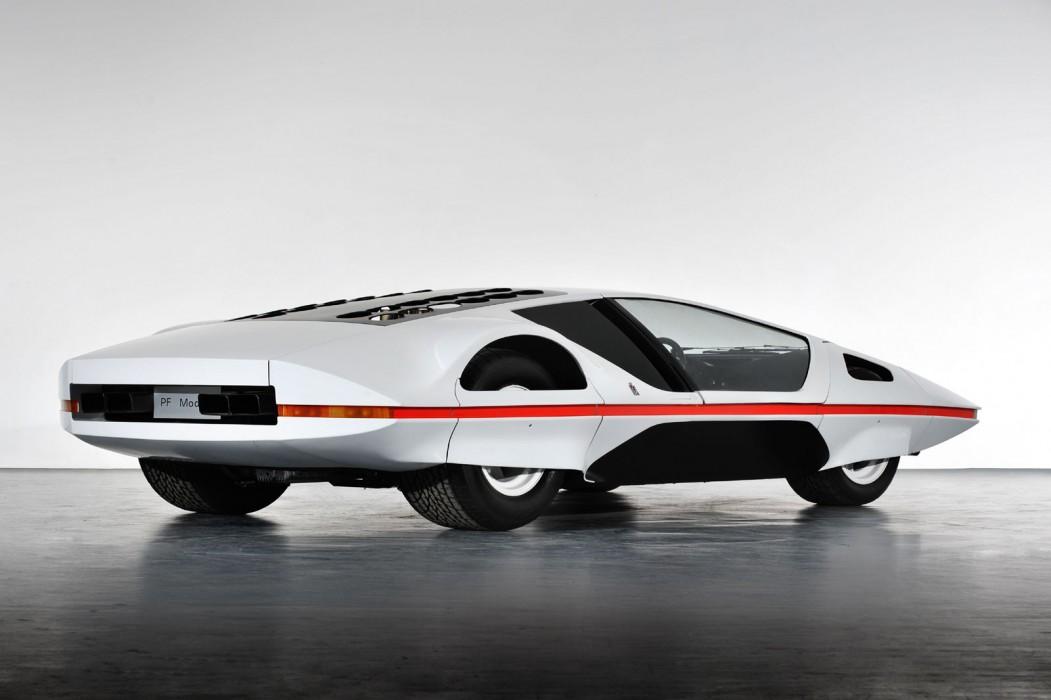 Ferrari Modulo rear 3/4