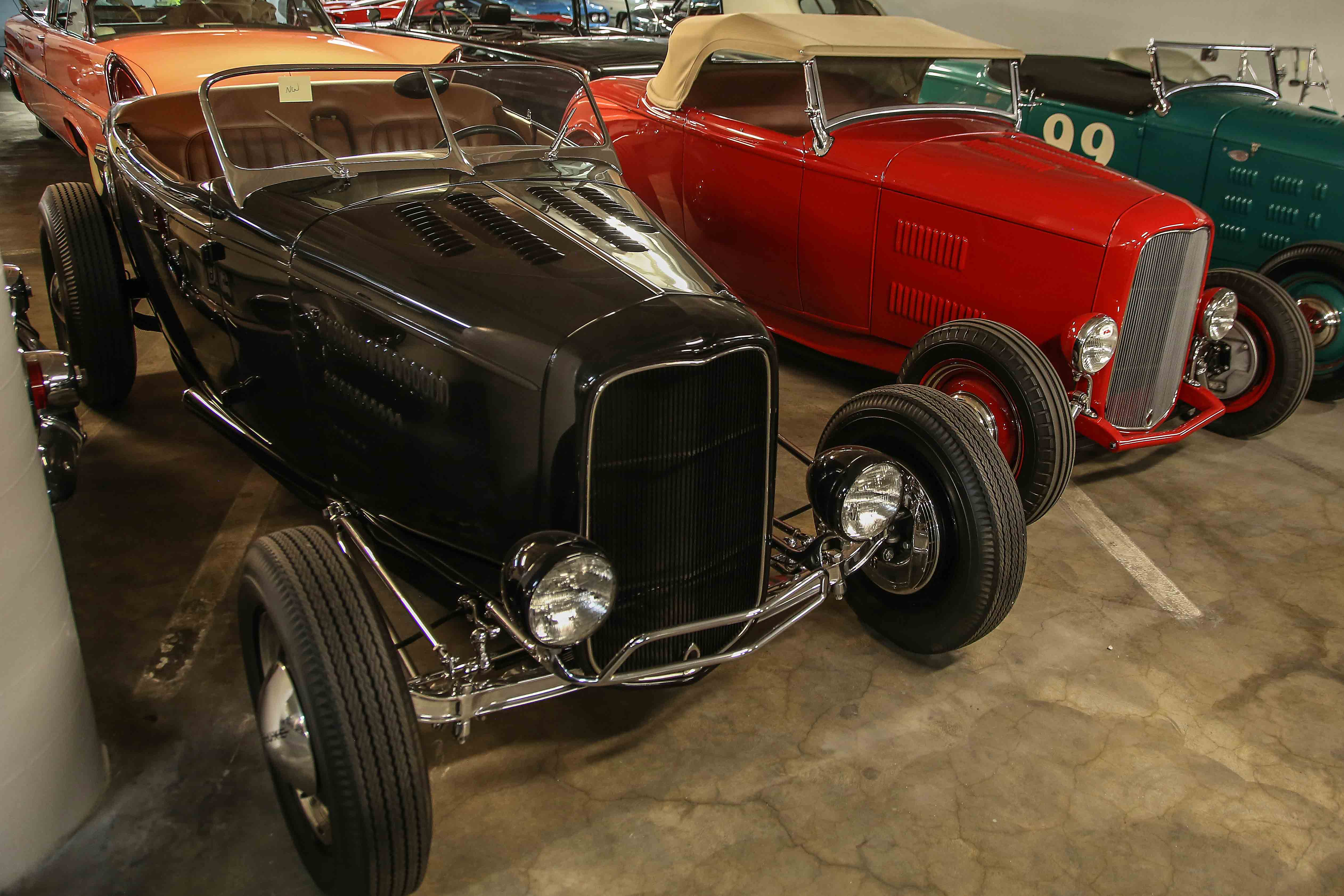 Doane Spencer and McGee 1932 Ford Roadsters
