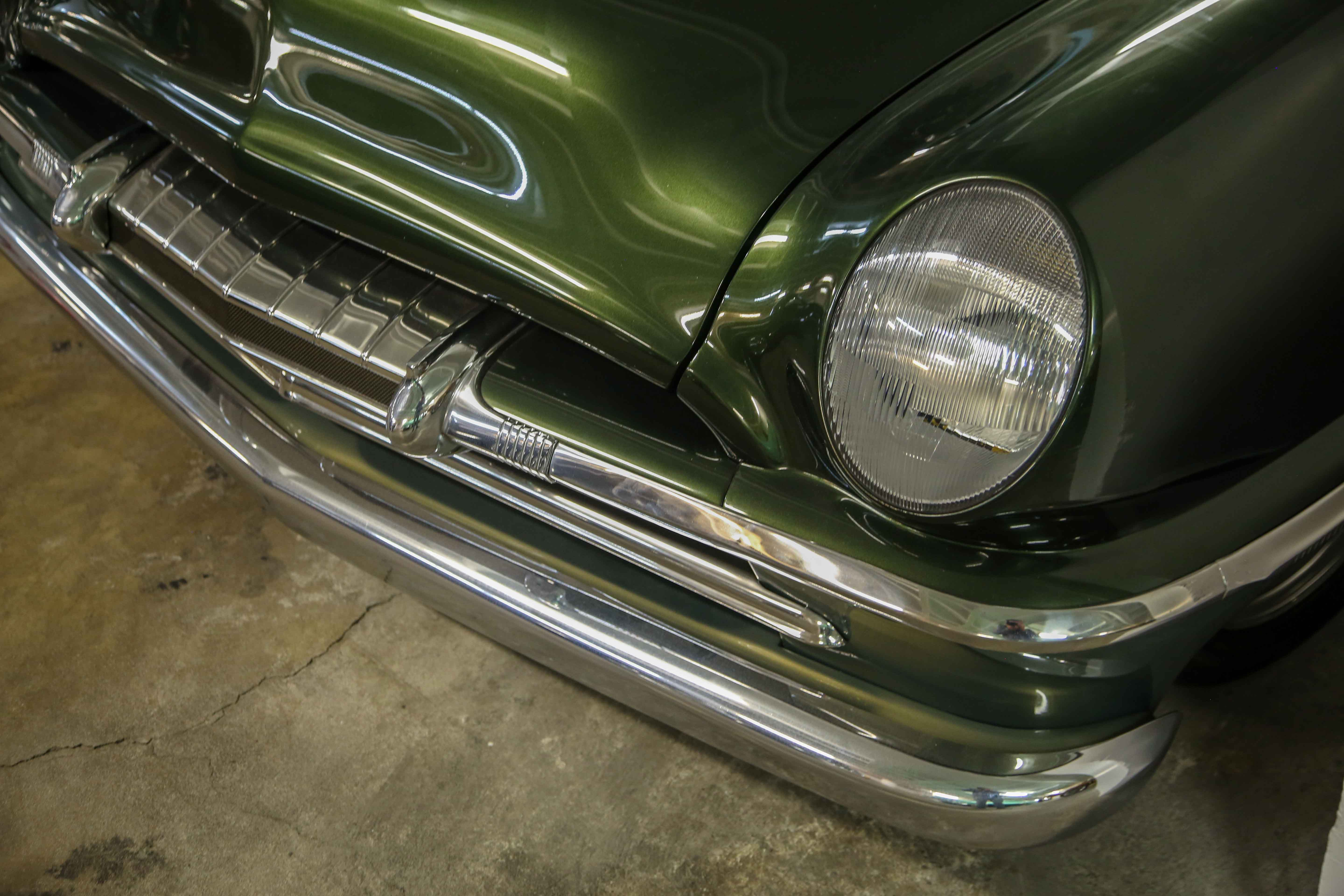 """1954 Plymouth """"Sniper"""" Grill peterson museum"""