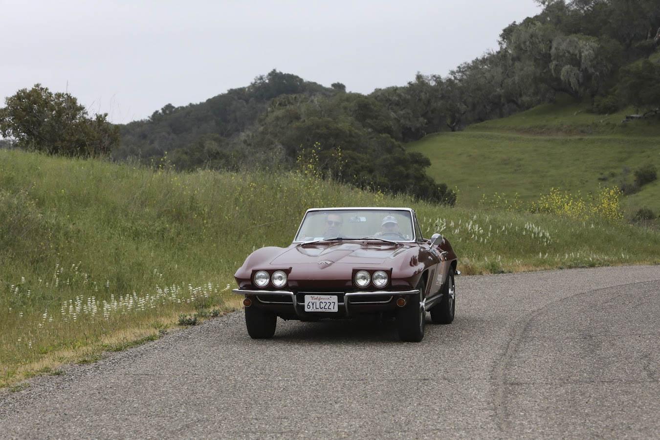 1965 Chevrolet Corvette driving