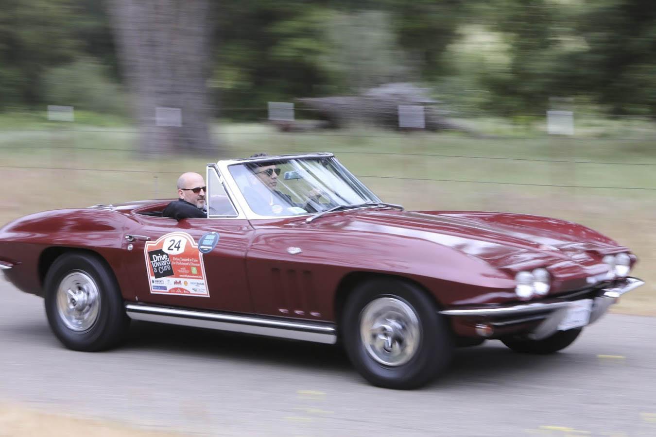 1965 Chevrolet Corvette front 3/4 driving