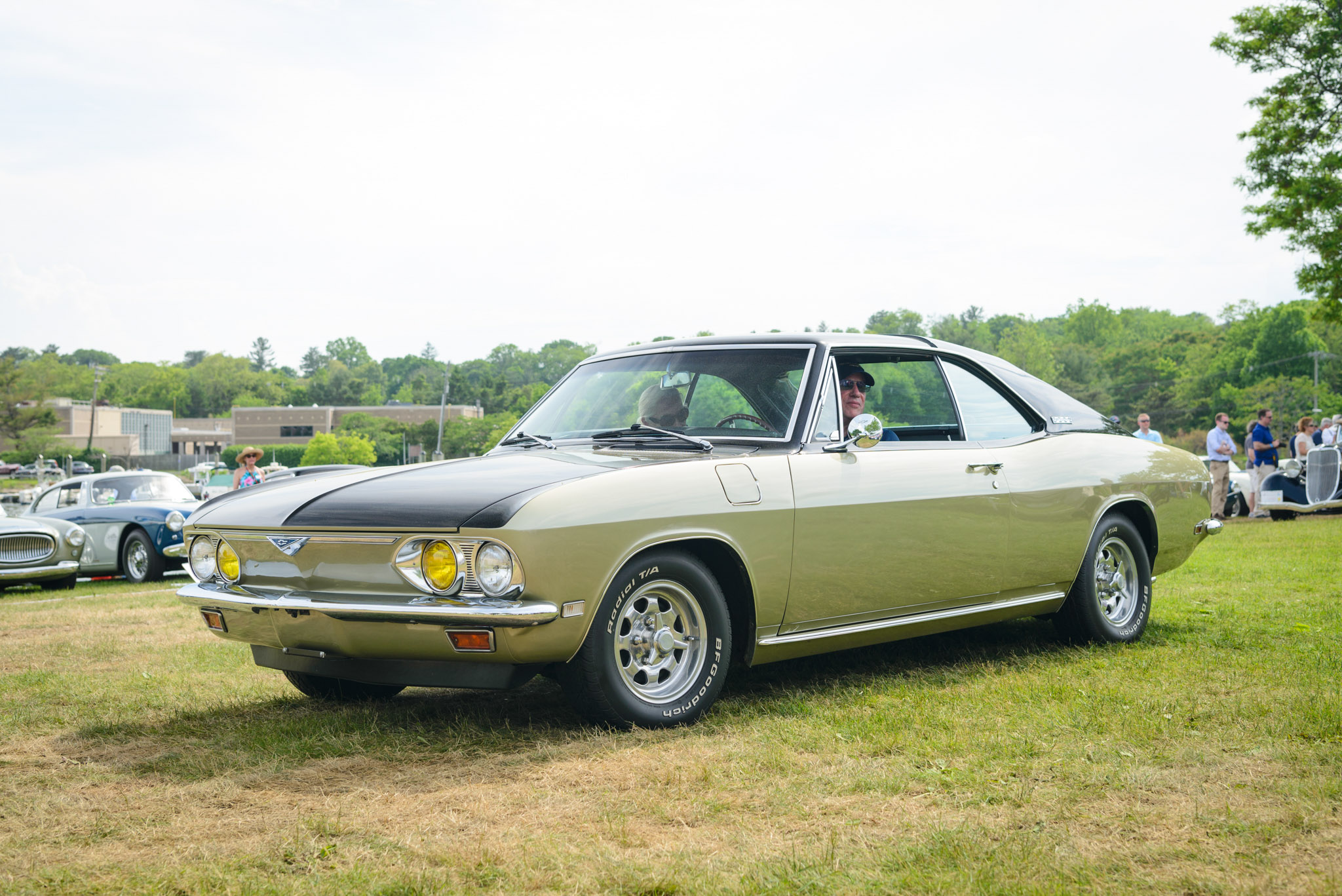 1968 Corvair Corsa Fitch Sprint Front 3/4