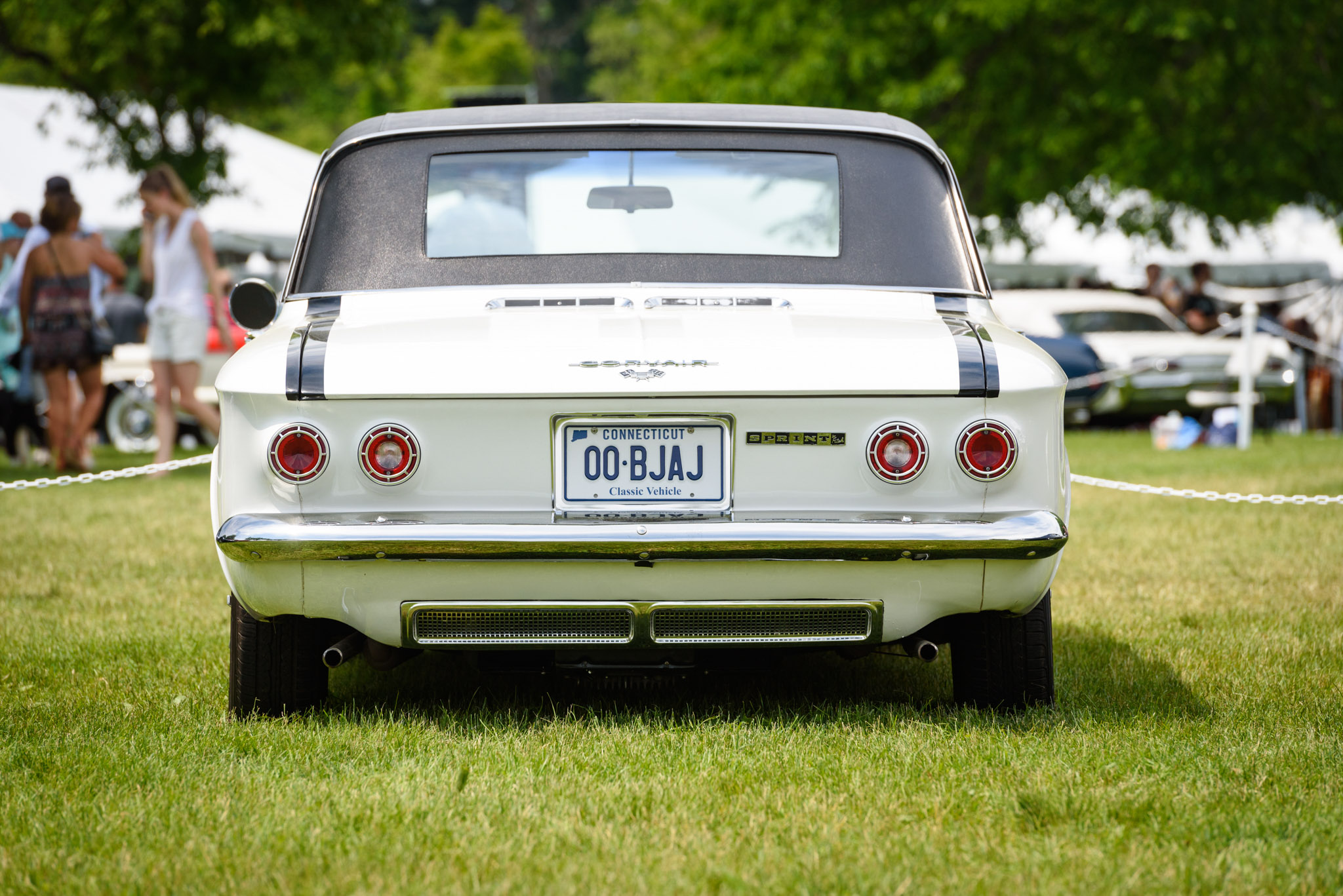 1962 Corvair Monza Fitch Sprint rear