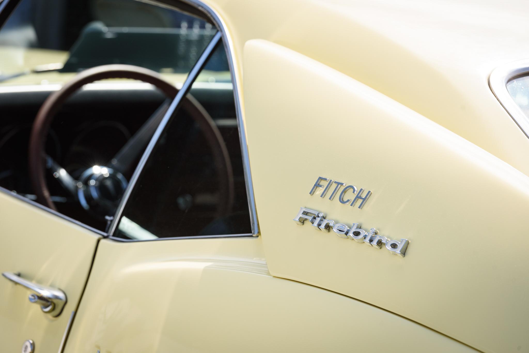 1967 Pontiac Fitch Firebird Sail pannel