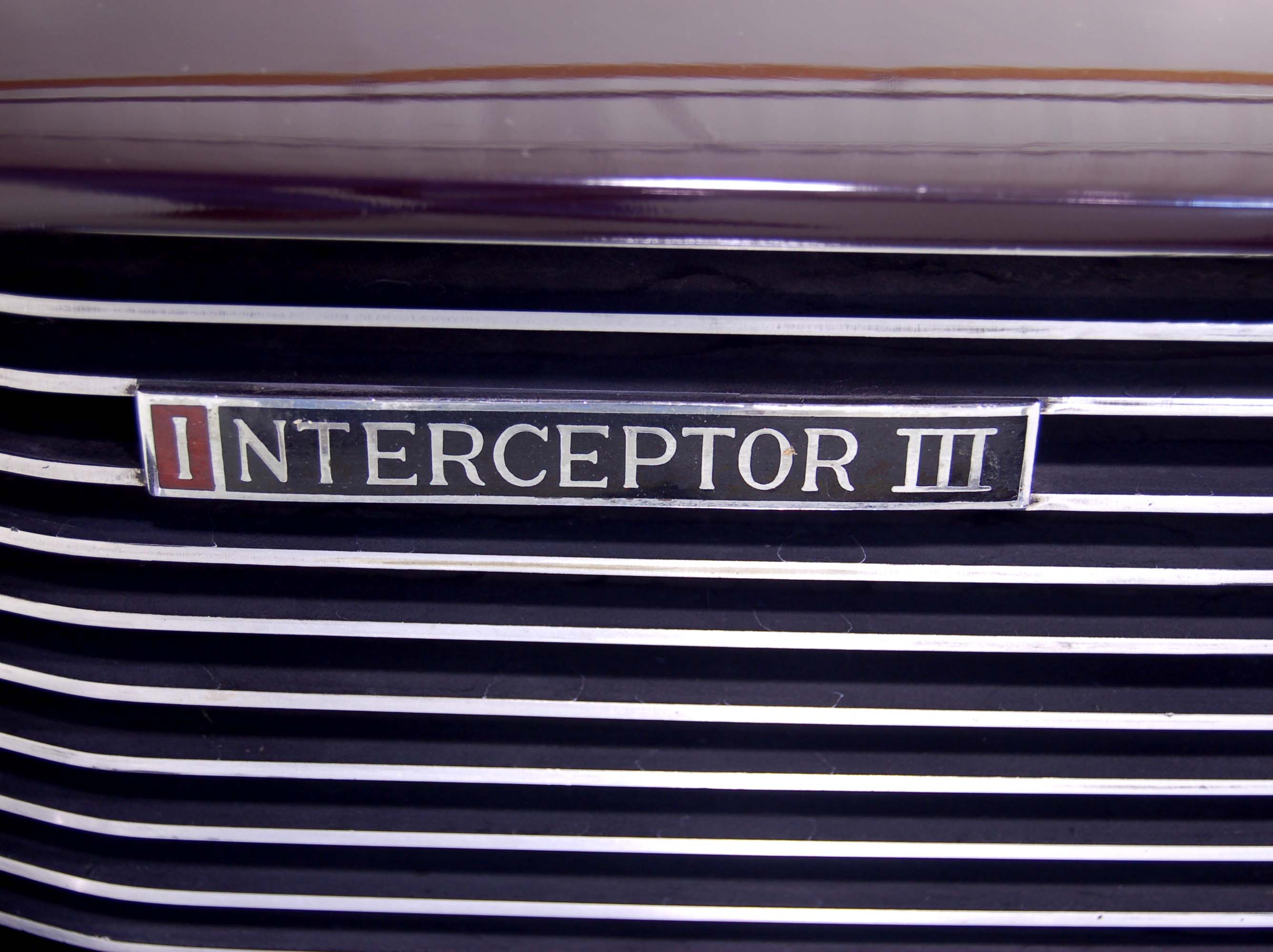 1972 Jensen Interceptor grill badge