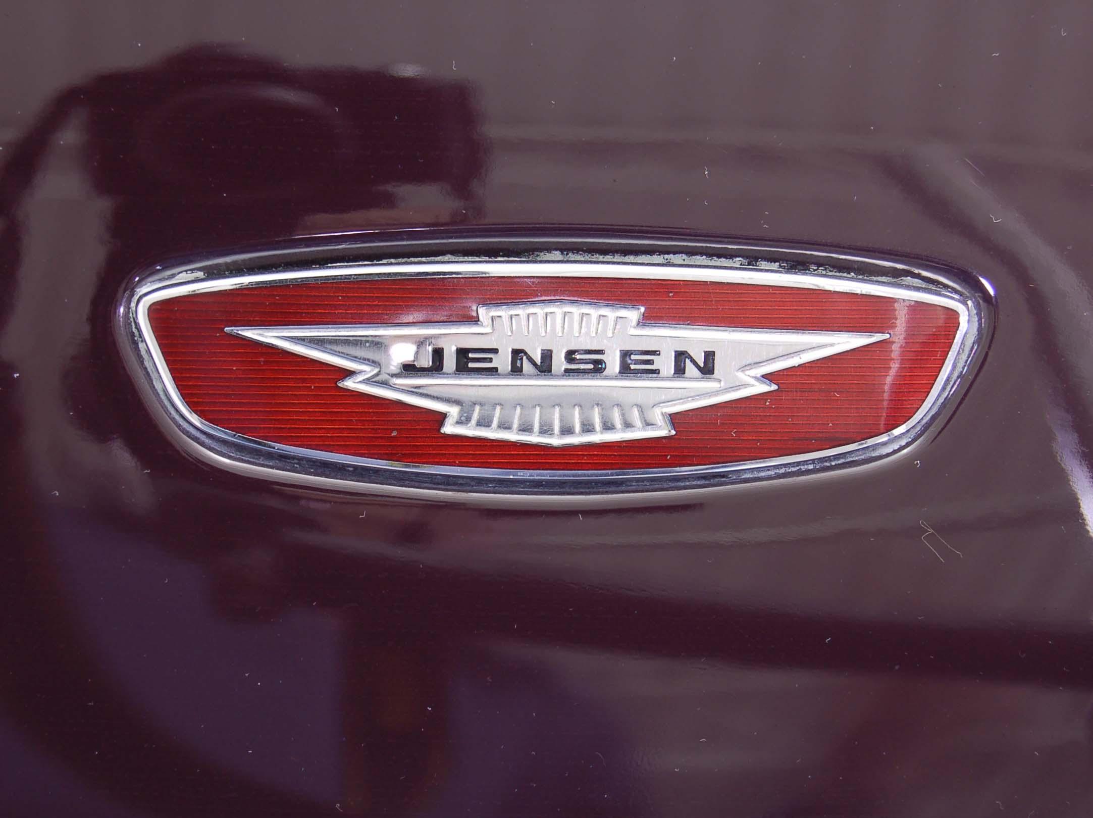1972 Jensen Interceptor hood badge