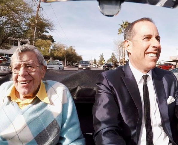 Comedians Cars Getting Coffee